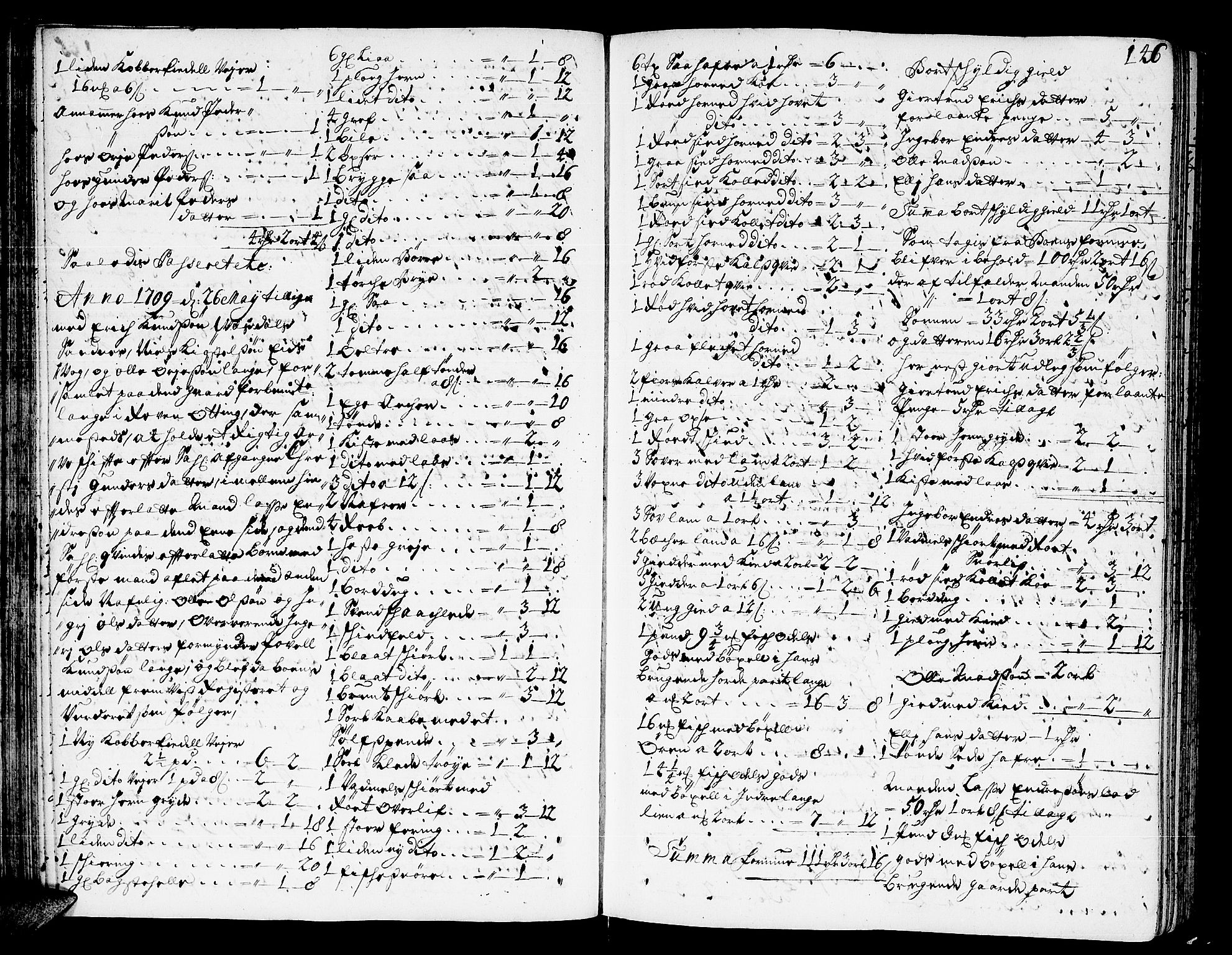 SAT, Romsdal sorenskriveri, 3/3A/L0005: Skifteprotokoll, 1707-1711, p. 145b-146a