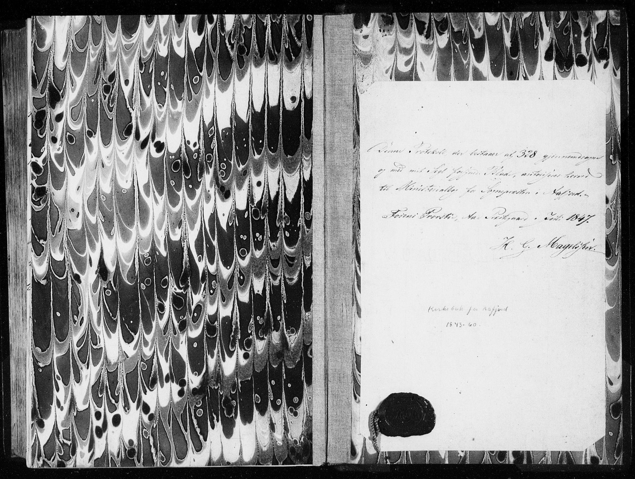SAT, Ministerialprotokoller, klokkerbøker og fødselsregistre - Sør-Trøndelag, 655/L0677: Parish register (official) no. 655A06, 1847-1860