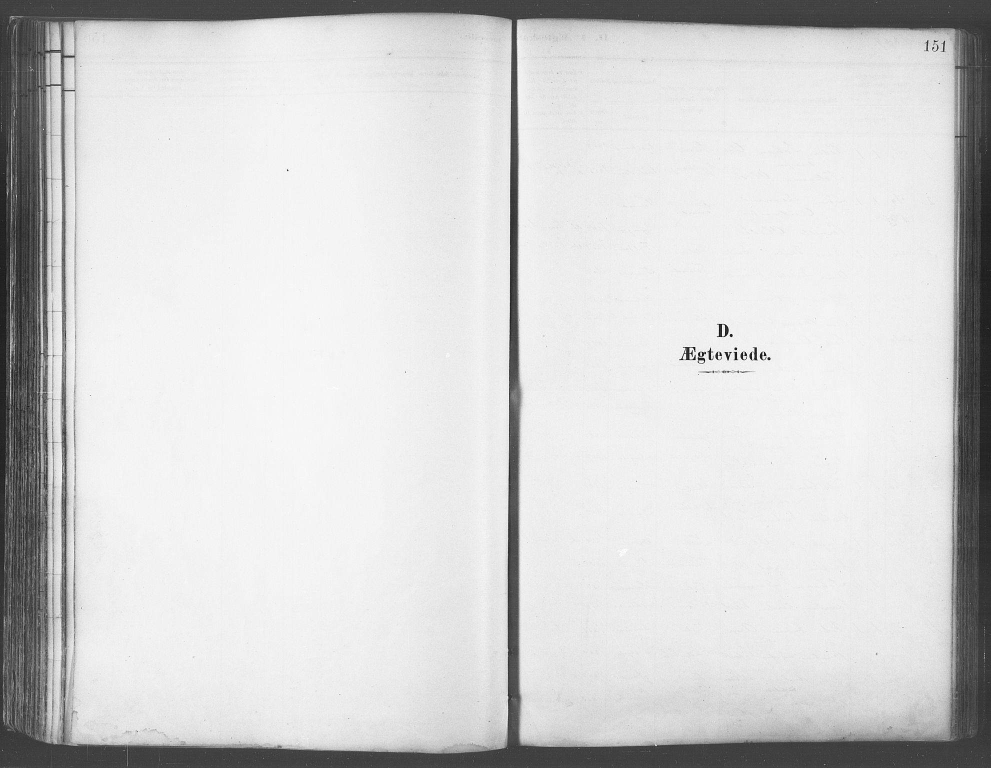 SATØ, Balsfjord sokneprestembete, Parish register (official) no. 5, 1884-1897, p. 151
