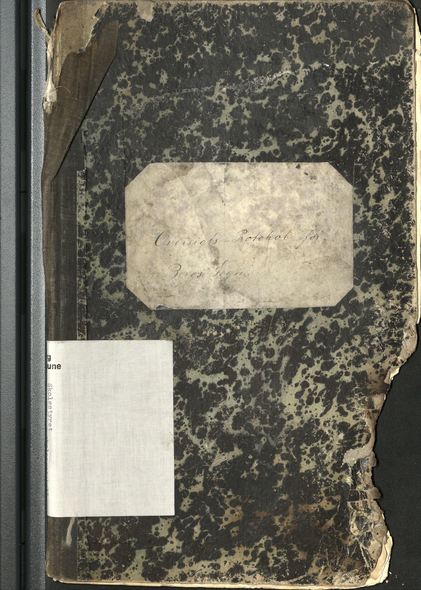 AT, Berg kommune (Troms), -: Skoledagbok for kretsene Finnsæter, Nordfjord, Steinfjord, Skaland, Ersfjord, Strømsnes, 1886-1891