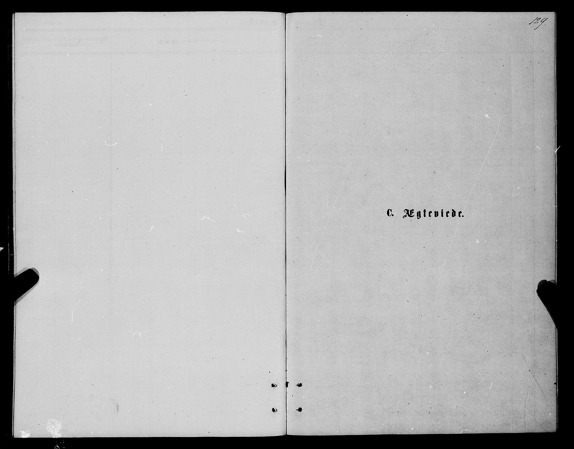SATØ, Karlsøy sokneprestembete, Parish register (official) no. 5, 1872-1878, p. 129
