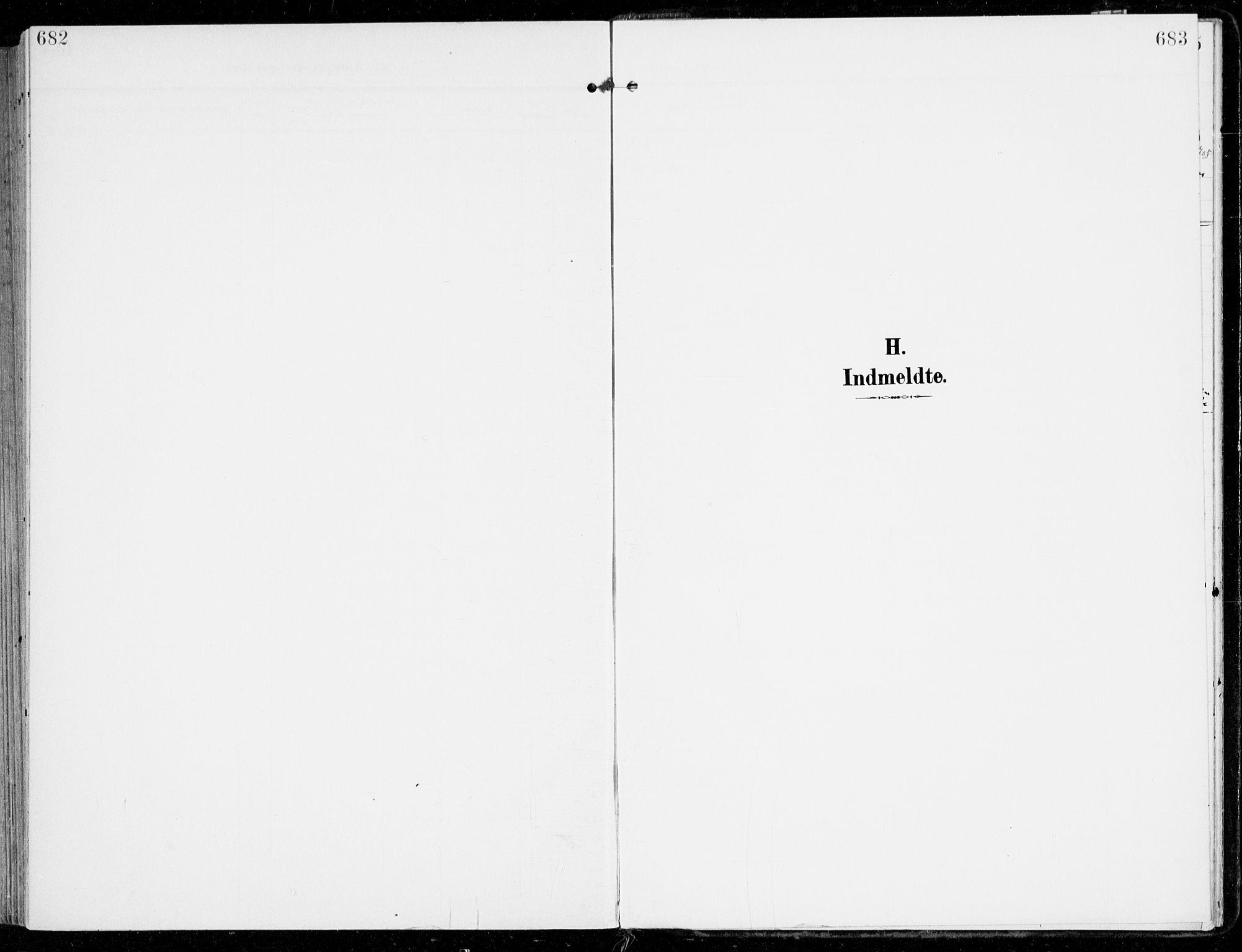 SAKO, Sem kirkebøker, F/Fb/L0006: Parish register (official) no. II 6, 1905-1918, p. 682-683