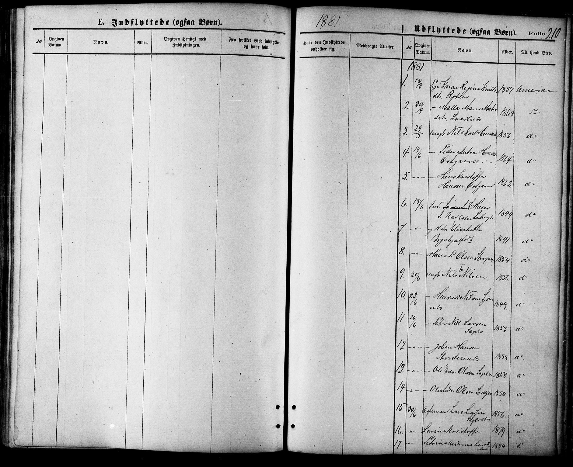 SATØ, Balsfjord sokneprestembete, Parish register (official) no. 4, 1871-1883, p. 210