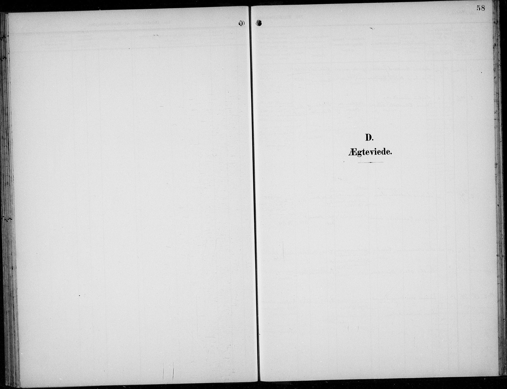 SAB, Parish register (official) no. A  1, 1900-1939, p. 58