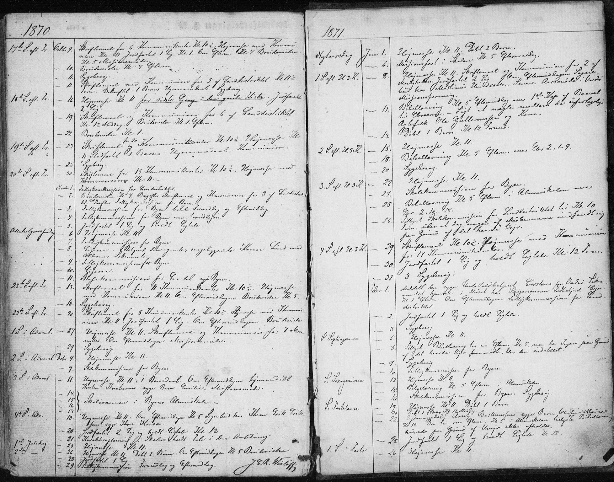 SATØ, Vardø sokneprestkontor, H/Ha/L0004kirke: Parish register (official) no. 4, 1862-1871
