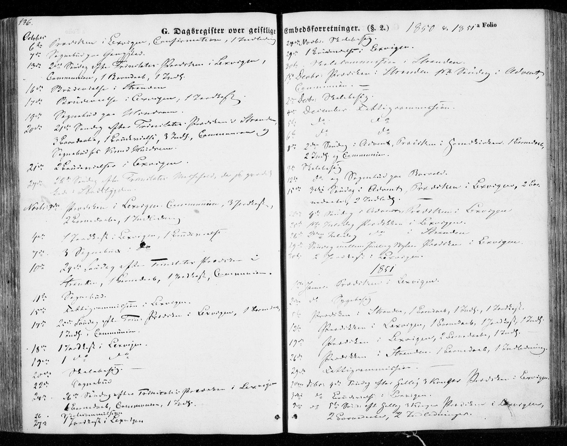SAT, Ministerialprotokoller, klokkerbøker og fødselsregistre - Nord-Trøndelag, 701/L0007: Parish register (official) no. 701A07 /1, 1842-1854, p. 436