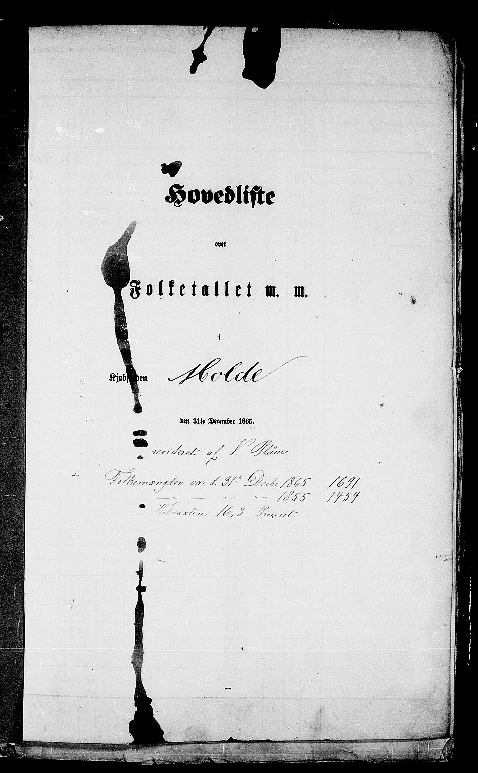 RA, 1865 census for Molde, 1865, p. 5