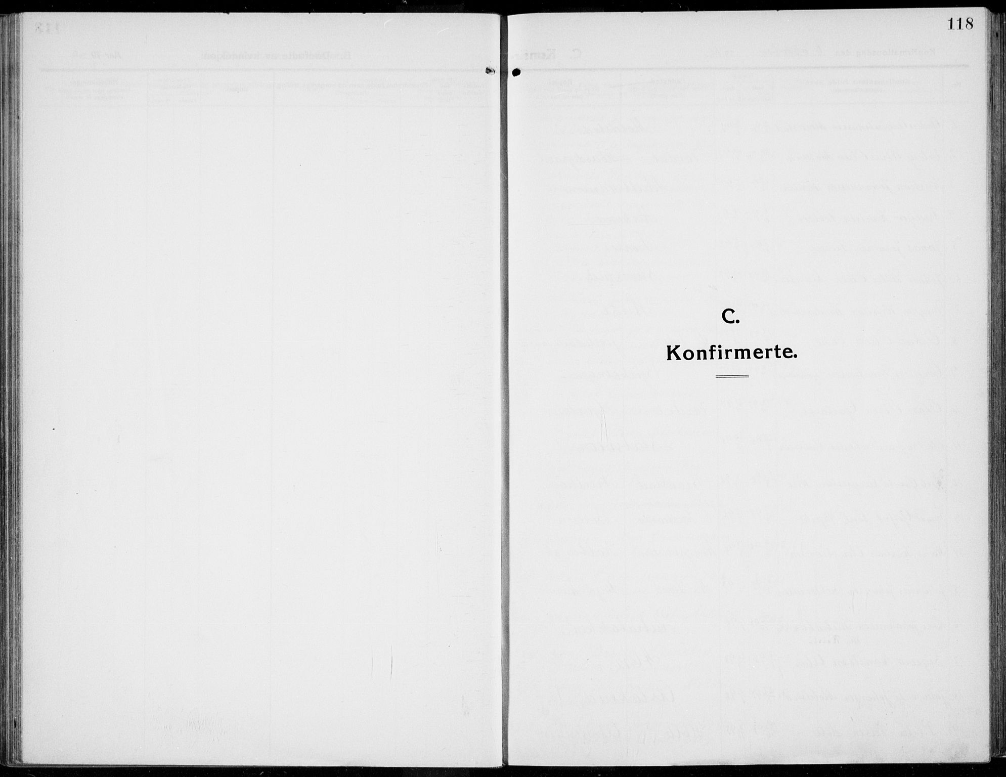 SAH, Kolbu prestekontor, Parish register (official) no. 2, 1912-1926, p. 118
