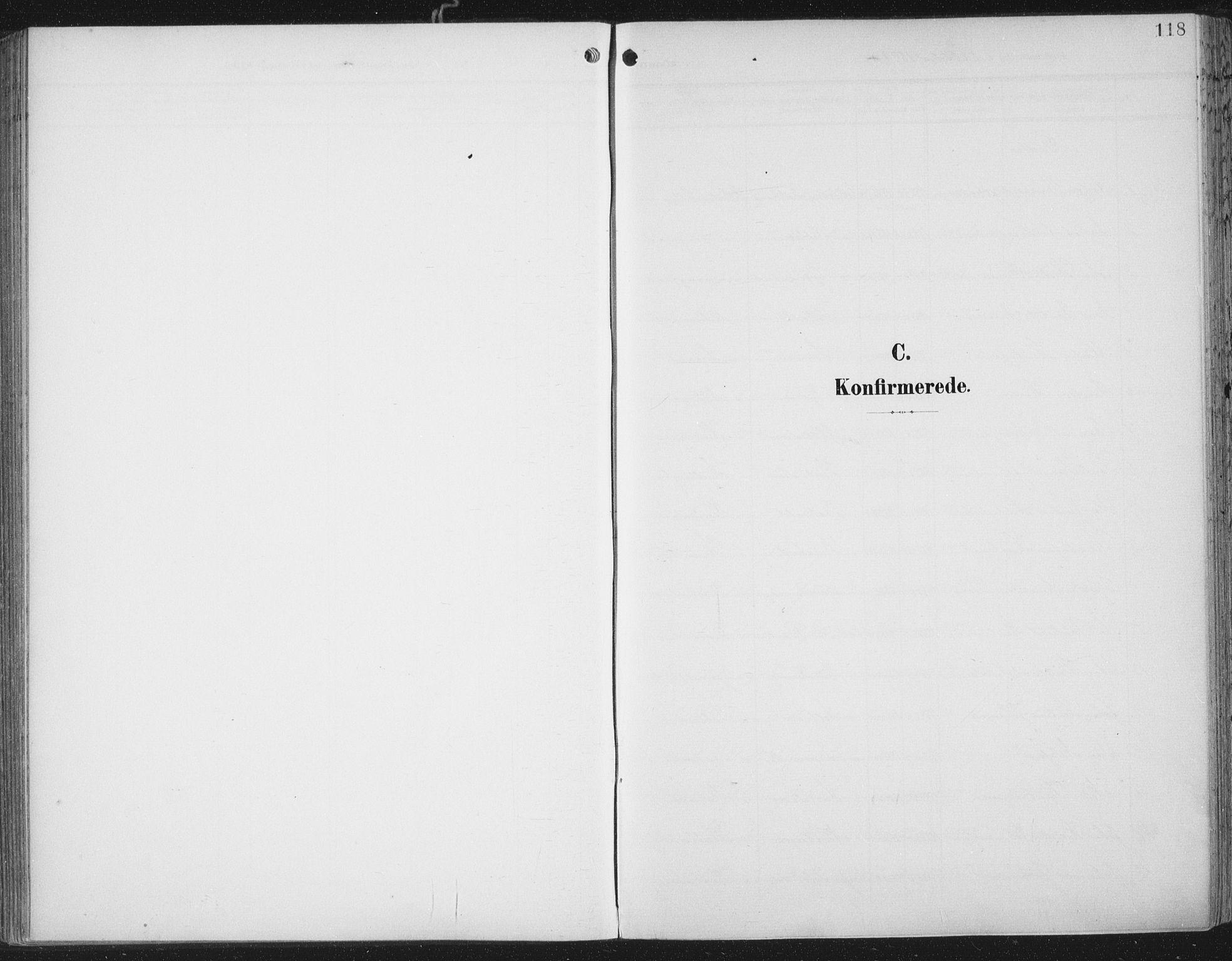 SAT, Ministerialprotokoller, klokkerbøker og fødselsregistre - Nord-Trøndelag, 701/L0011: Parish register (official) no. 701A11, 1899-1915, p. 118
