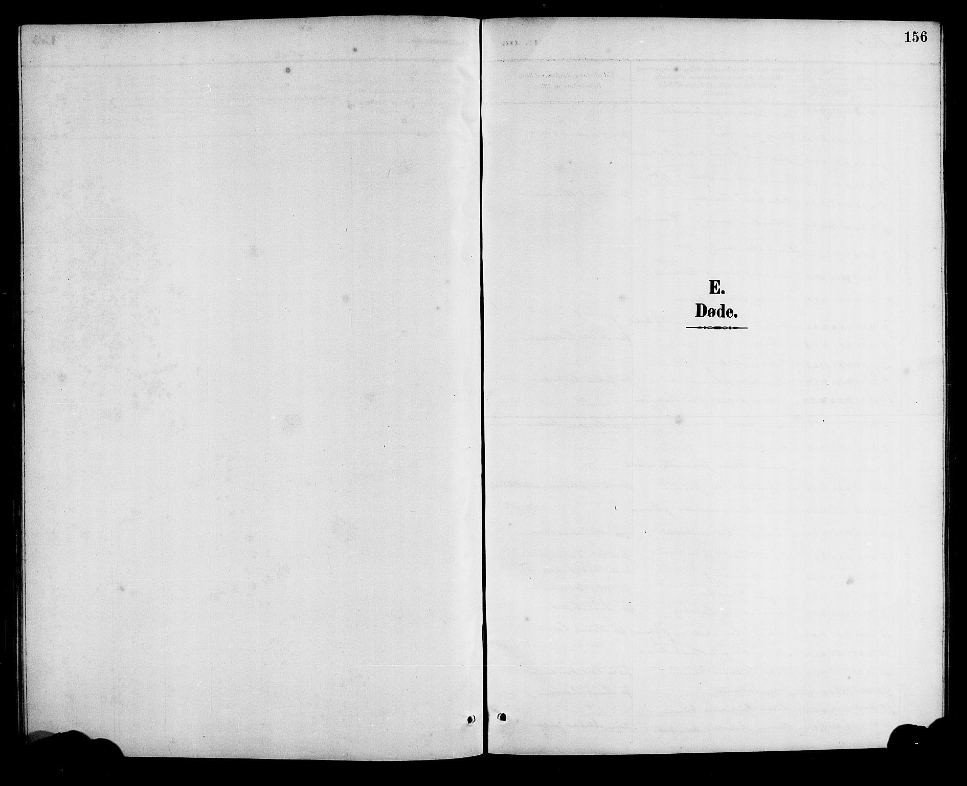 SAB, Bremanger Sokneprestembete, H/Hab: Parish register (copy) no. A 3, 1890-1908, p. 156