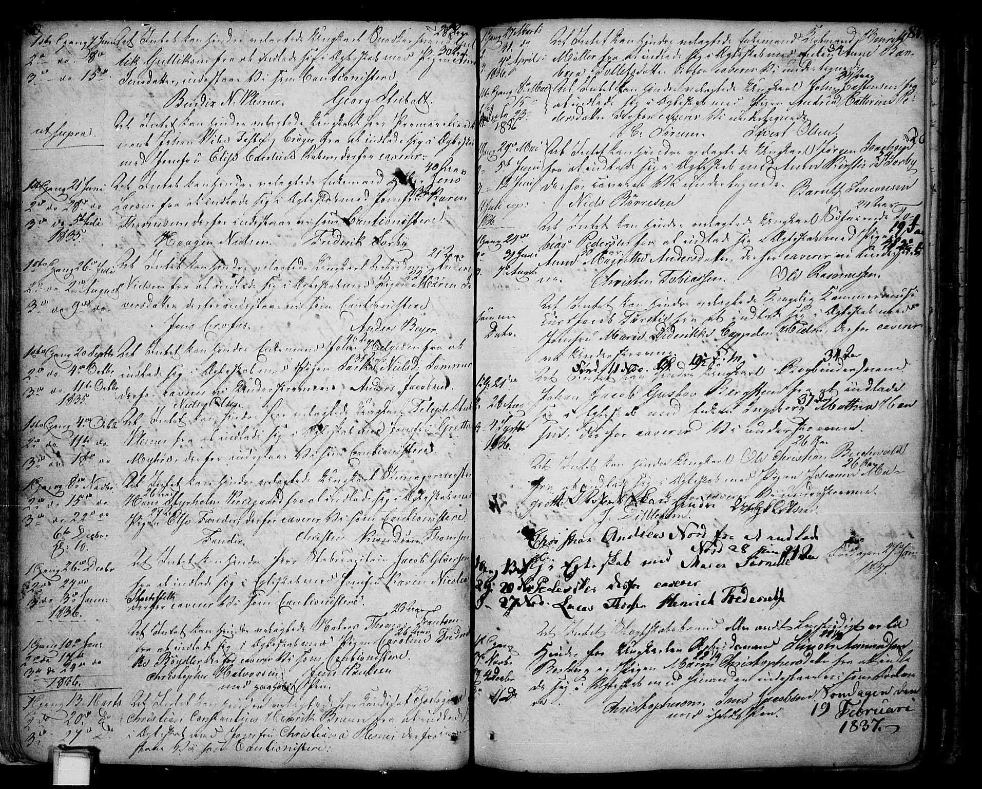 SAKO, Skien kirkebøker, F/Fa/L0004: Parish register (official) no. 4, 1792-1814, p. 80-81
