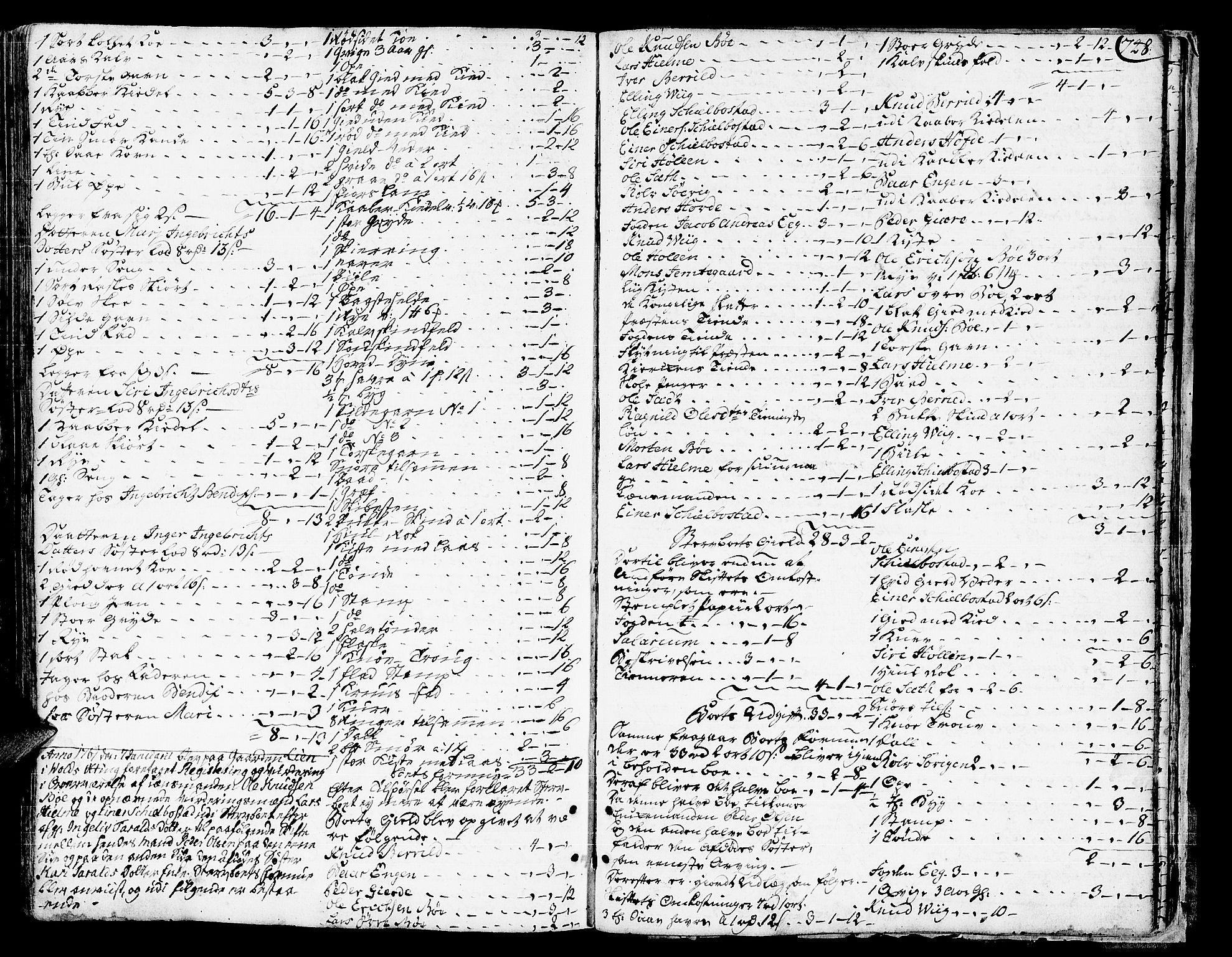 SAT, Romsdal sorenskriveri, 3/3A/L0008: Skifteprotokoll, 1752-1761, p. 747b-748a