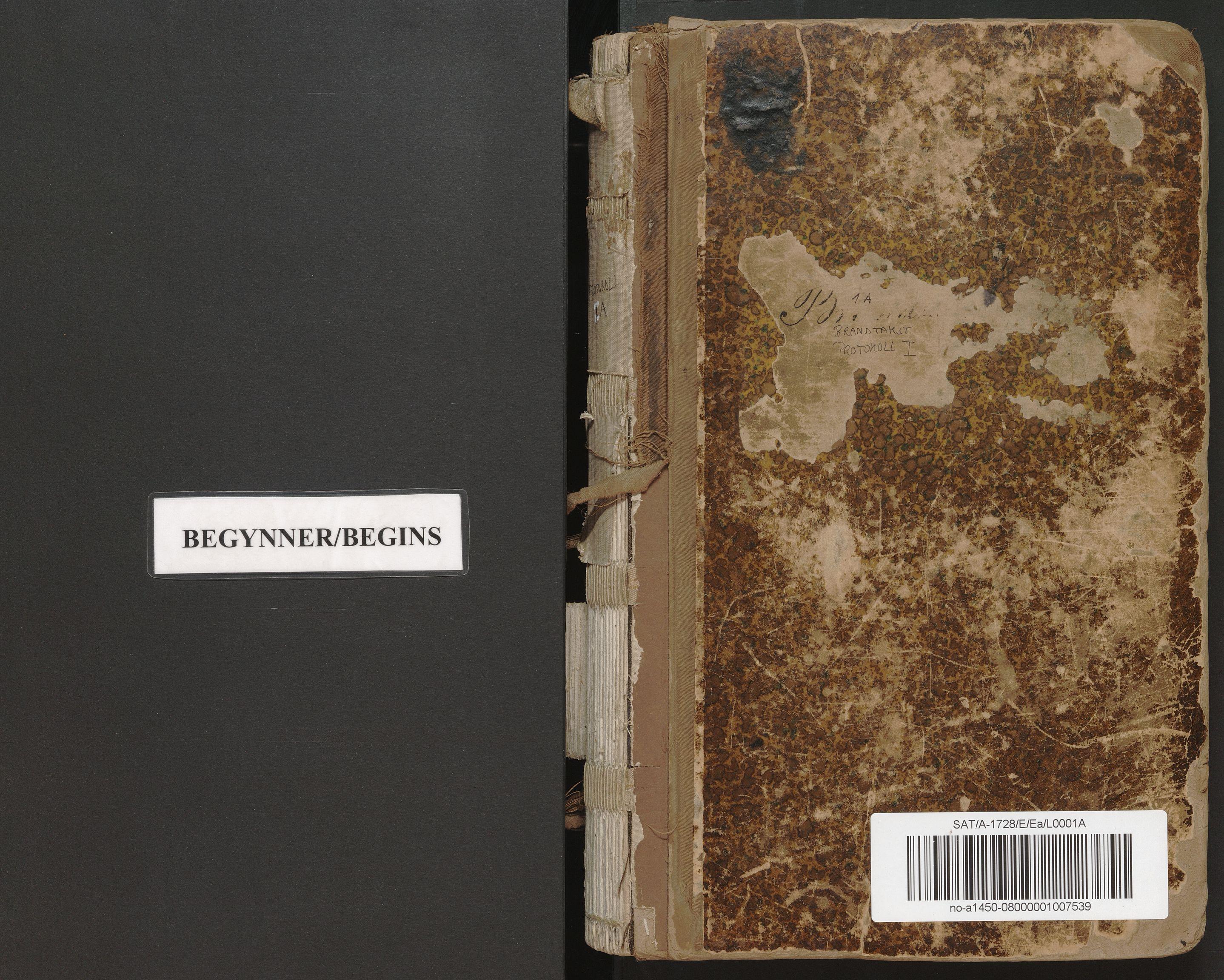 SAT, Norges Brannkasse Mo, E/Ea/L0001A: Branntakstforretning, 1886-1903