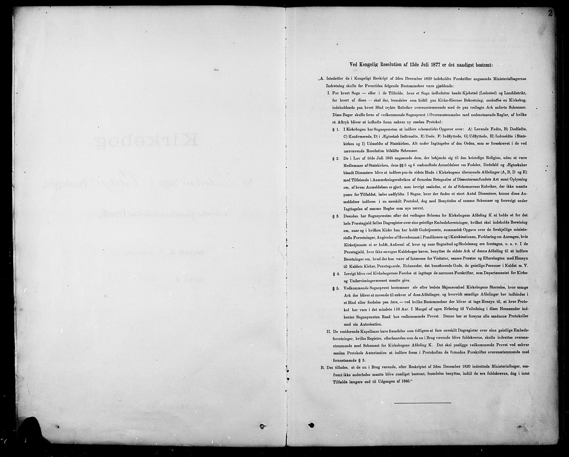 SAH, Sel prestekontor, Parish register (copy) no. 5, 1894-1923, p. 2