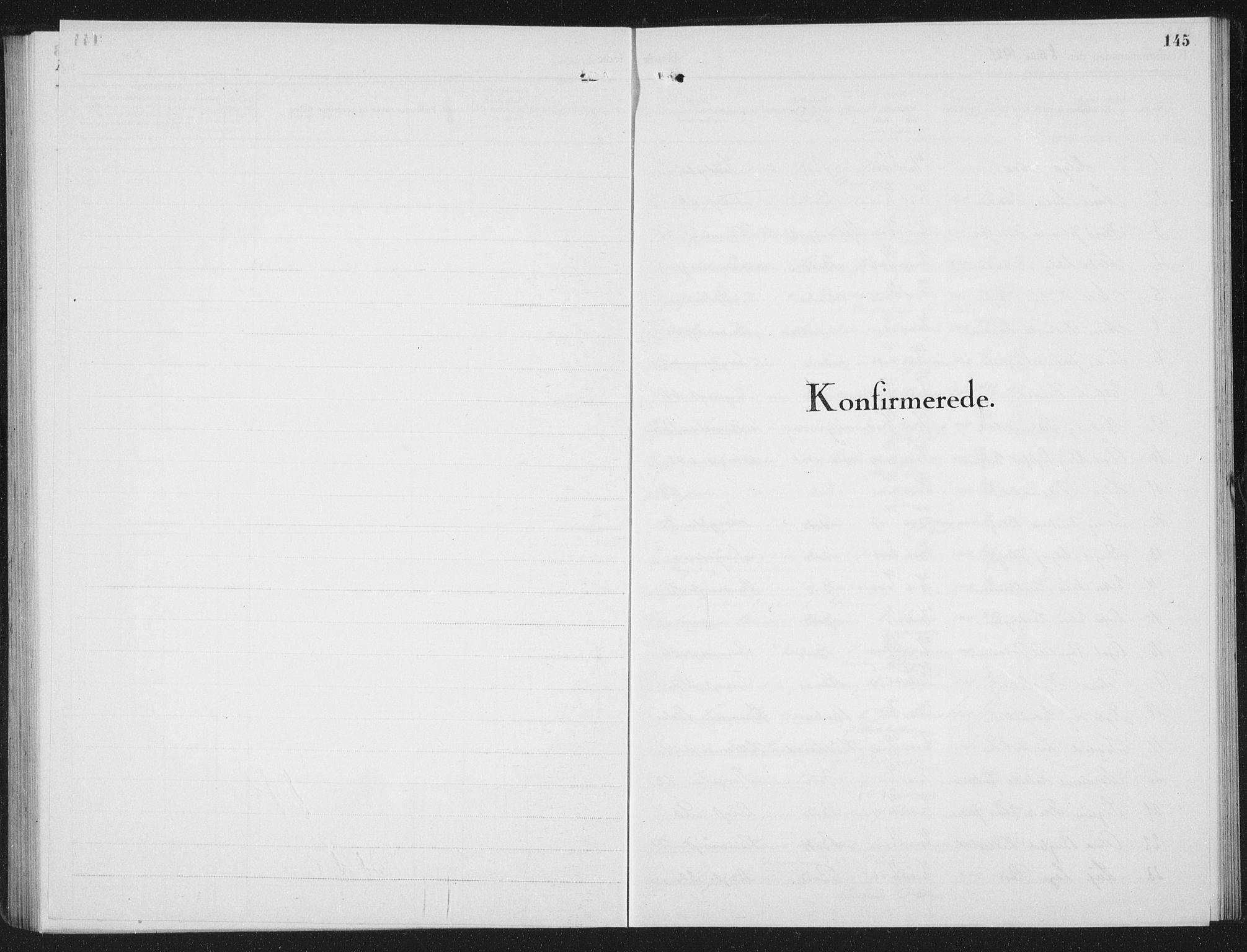SAT, Ministerialprotokoller, klokkerbøker og fødselsregistre - Nordland, 801/L0037: Parish register (copy) no. 801C12, 1921-1937, p. 145