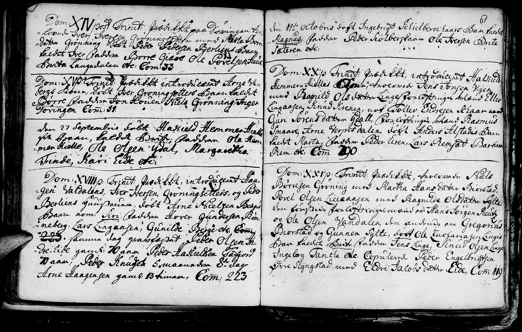 SAT, Ministerialprotokoller, klokkerbøker og fødselsregistre - Møre og Romsdal, 519/L0240: Parish register (official) no. 519A01 /1, 1736-1760, p. 51