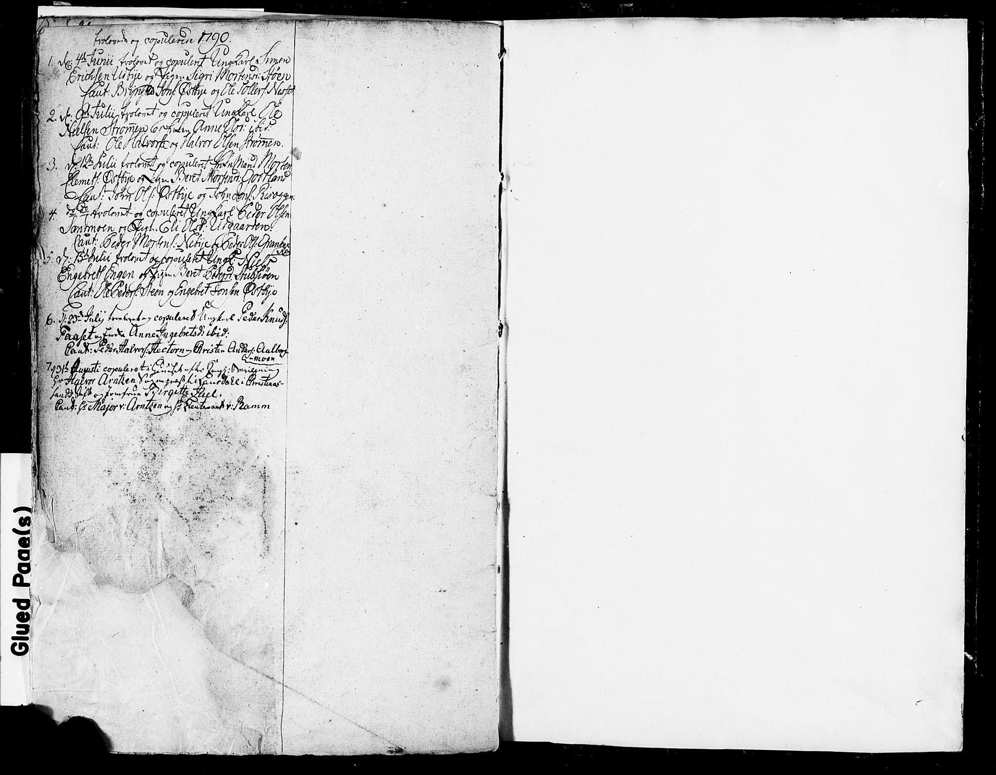 SAH, Tynset prestekontor, Parish register (official) no. 13, 1784-1790