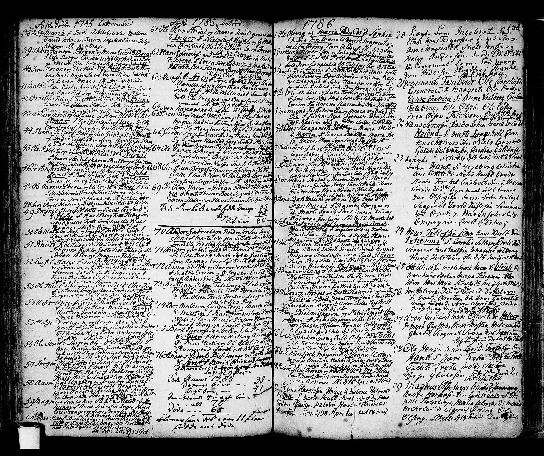 SAO, Skjeberg prestekontor Kirkebøker, F/Fa/L0002: Parish register (official) no. I 2, 1726-1791, p. 138