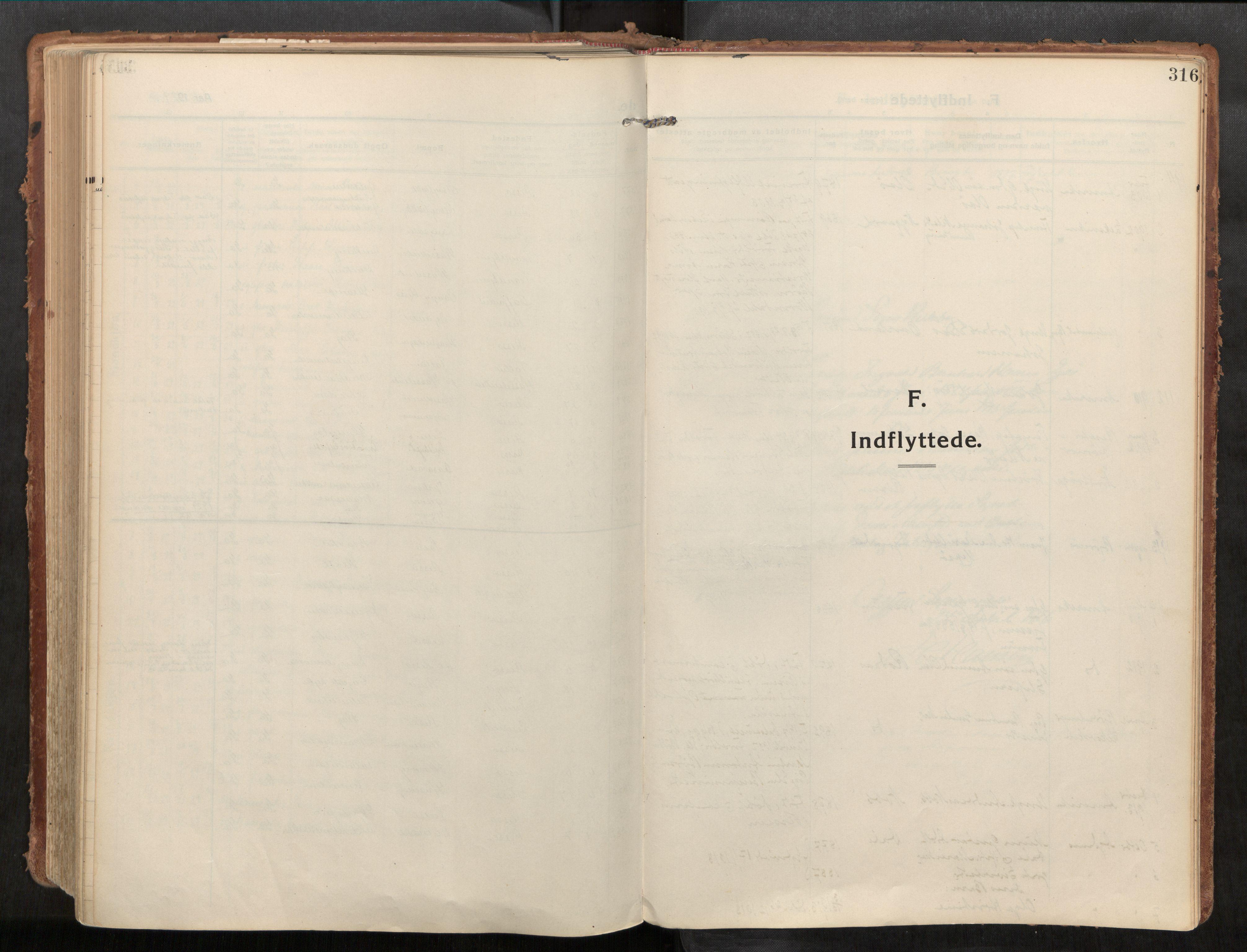 SAT, Stadsbygd sokneprestkontor, I/I1/I1a/L0001: Parish register (official) no. 1, 1911-1929, p. 316