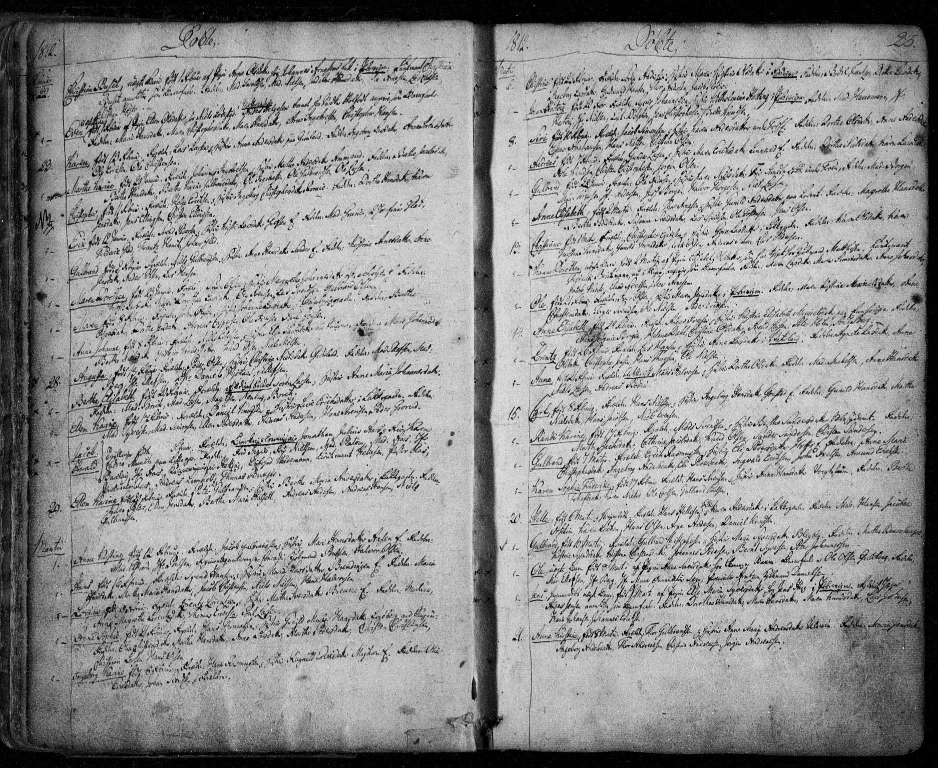 SAO, Aker prestekontor kirkebøker, F/L0011: Parish register (official) no. 11, 1810-1819, p. 23