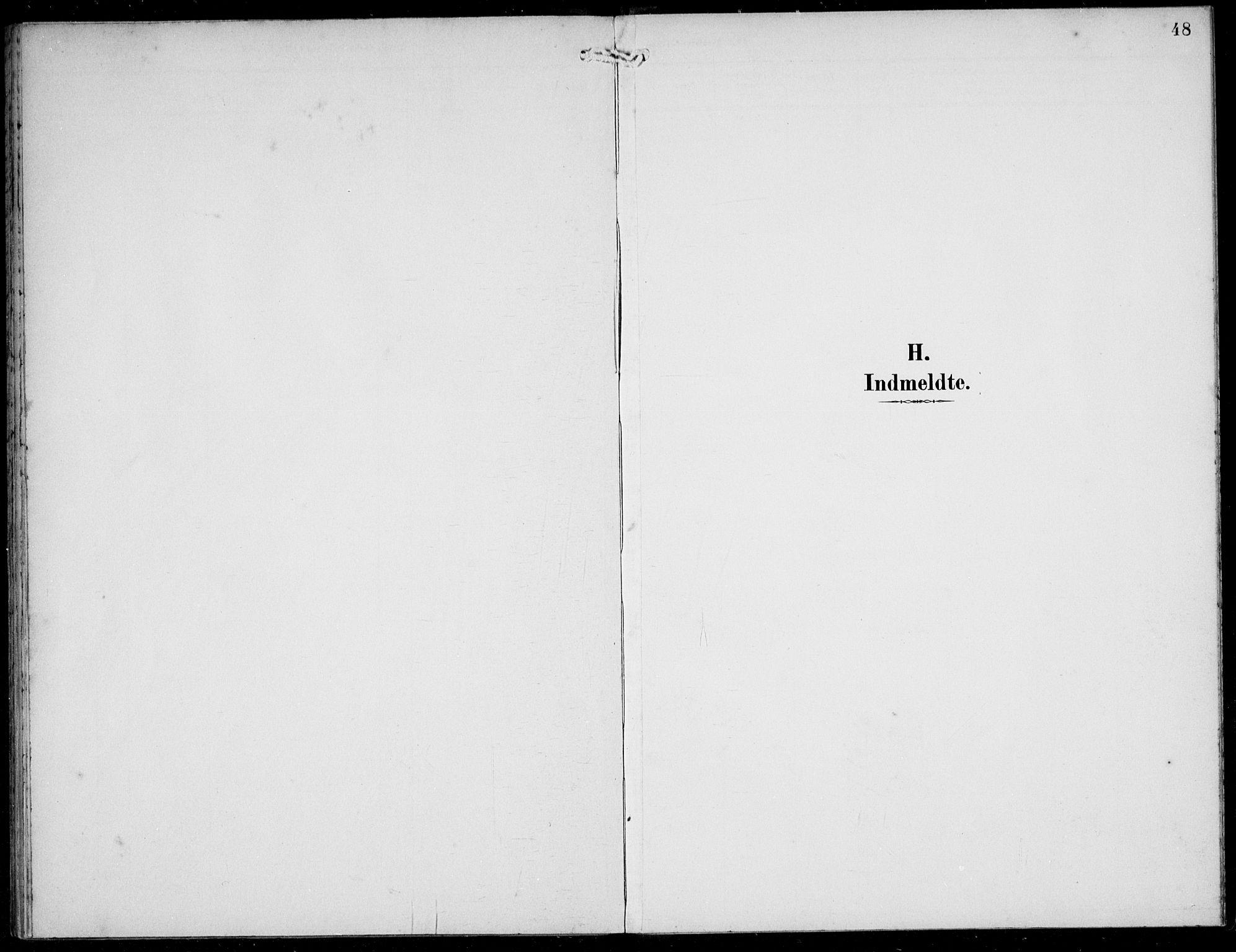 SAB, Solund sokneprestembete, Parish register (official) no. B  1, 1891-1901, p. 48