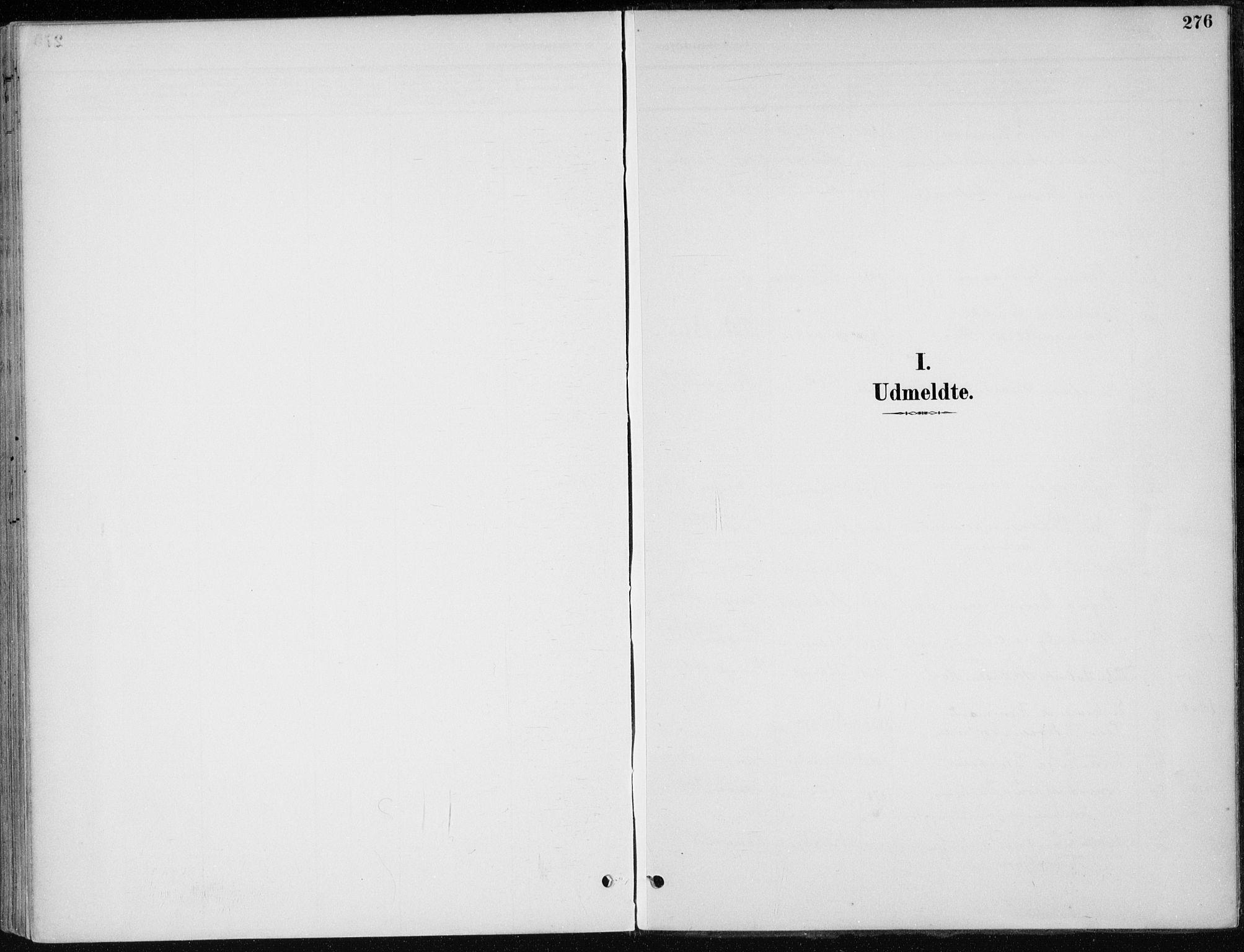 SAH, Stange prestekontor, K/L0023: Parish register (official) no. 23, 1897-1920, p. 276