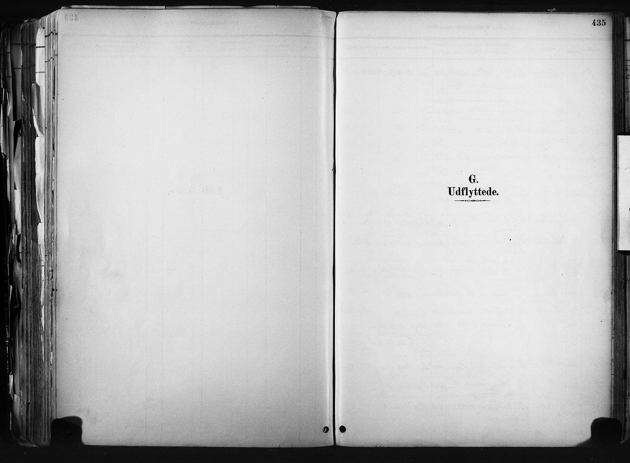 SAKO, Kongsberg kirkebøker, F/Fb/L0002: Parish register (official) no. II 2, 1886-1896, p. 435