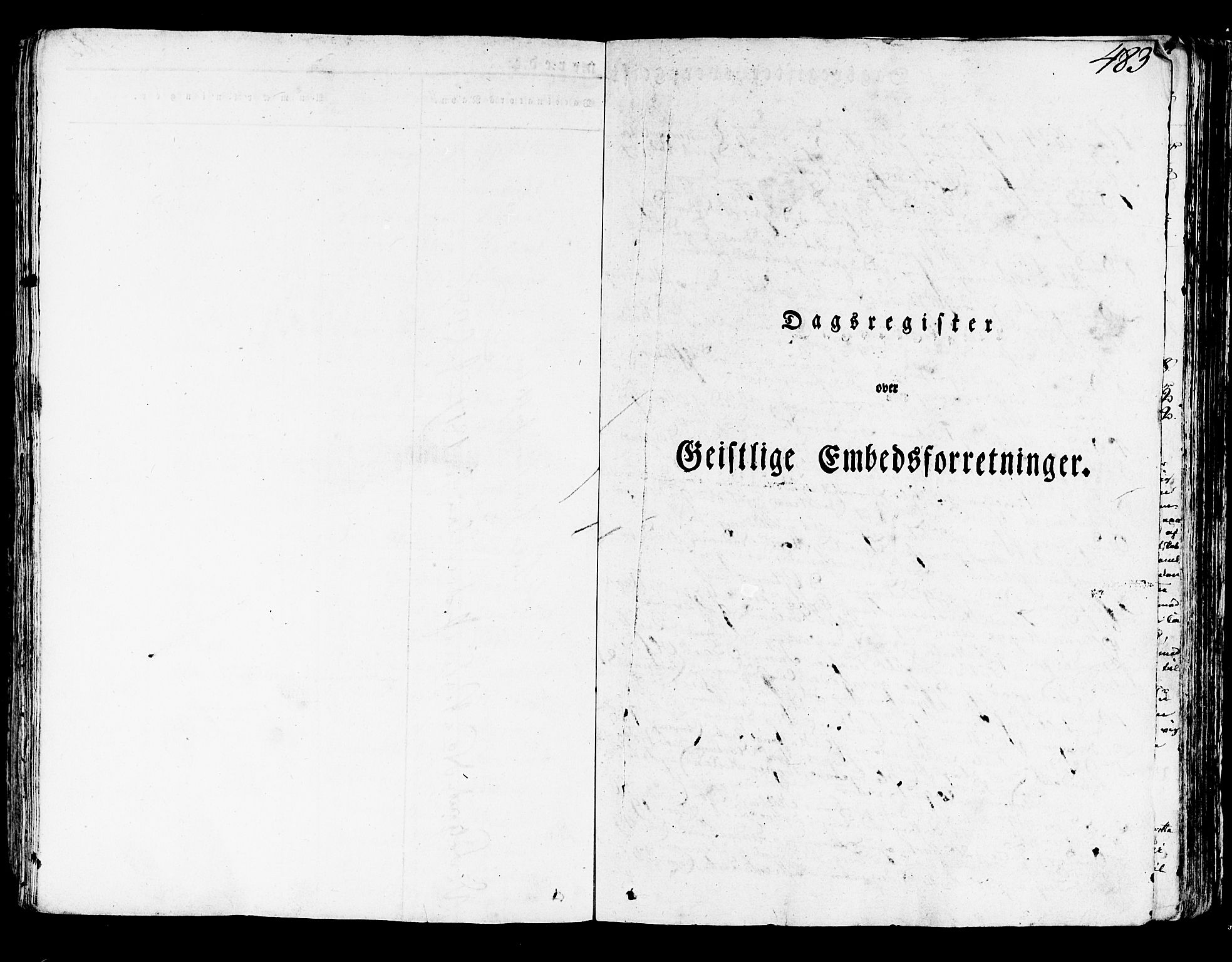 SAB, Lindås Sokneprestembete, H/Haa: Parish register (official) no. A 8, 1823-1836, p. 483