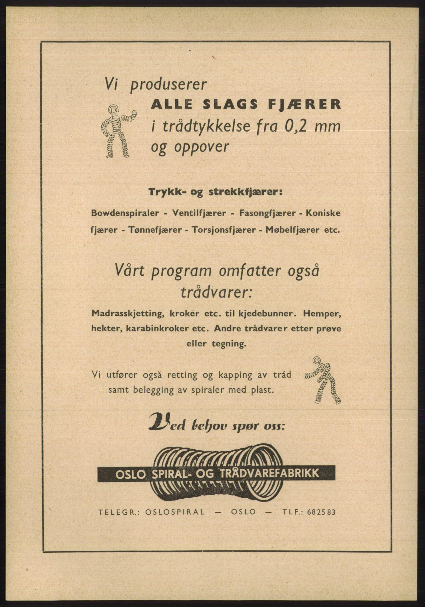 PUBL, Kristiania/Oslo adressebok, 1955