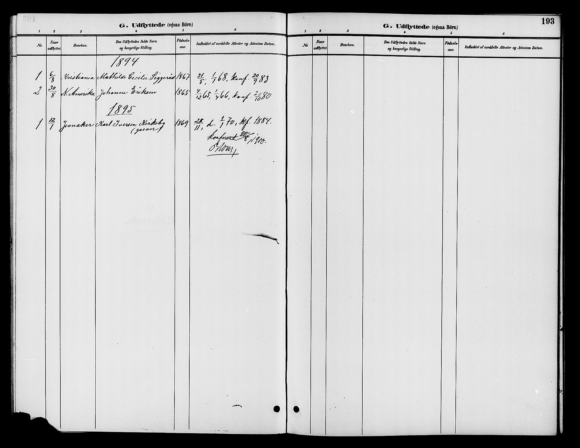 SAH, Vardal prestekontor, H/Ha/Hab/L0009: Parish register (copy) no. 9, 1894-1902, p. 193