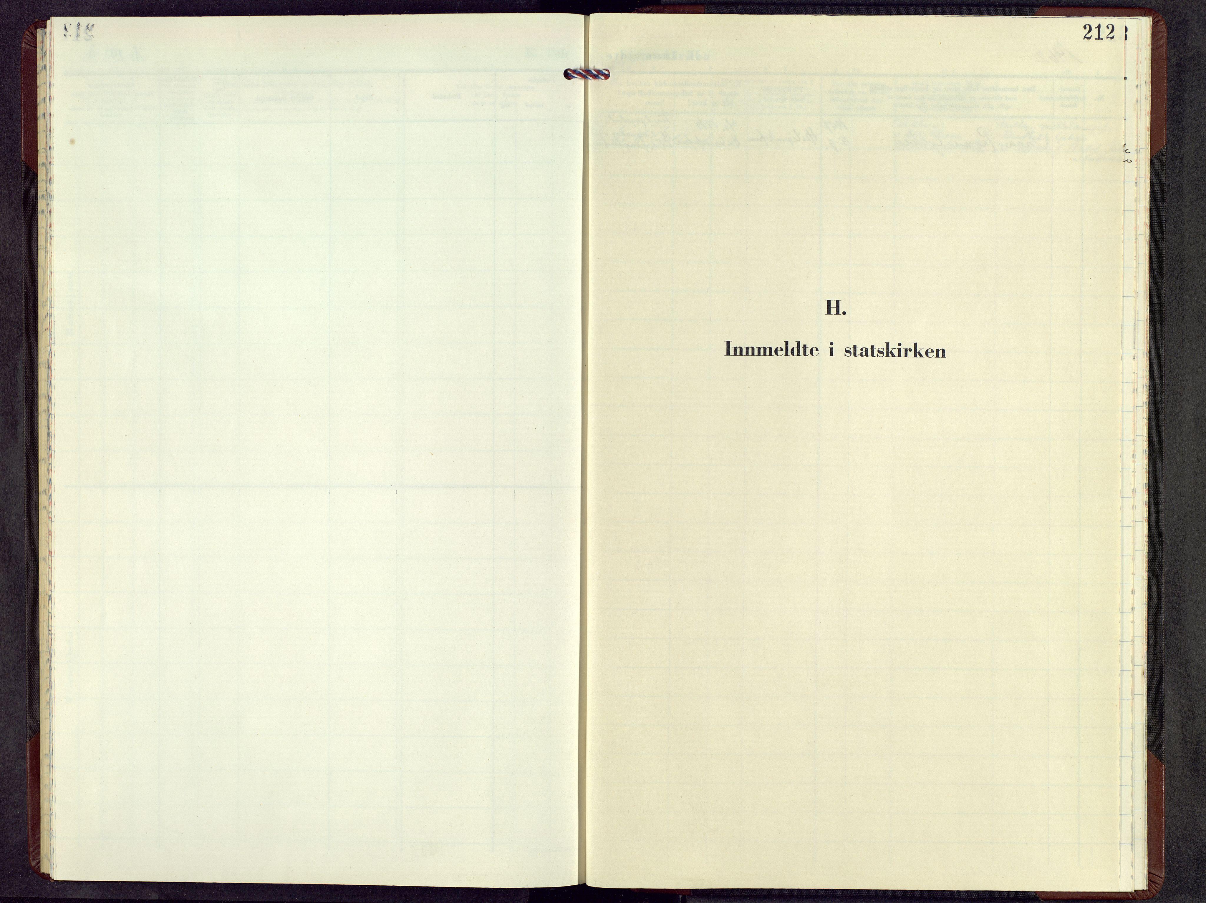 SAH, Lesja prestekontor, Parish register (copy) no. 12, 1961-1968, p. 212