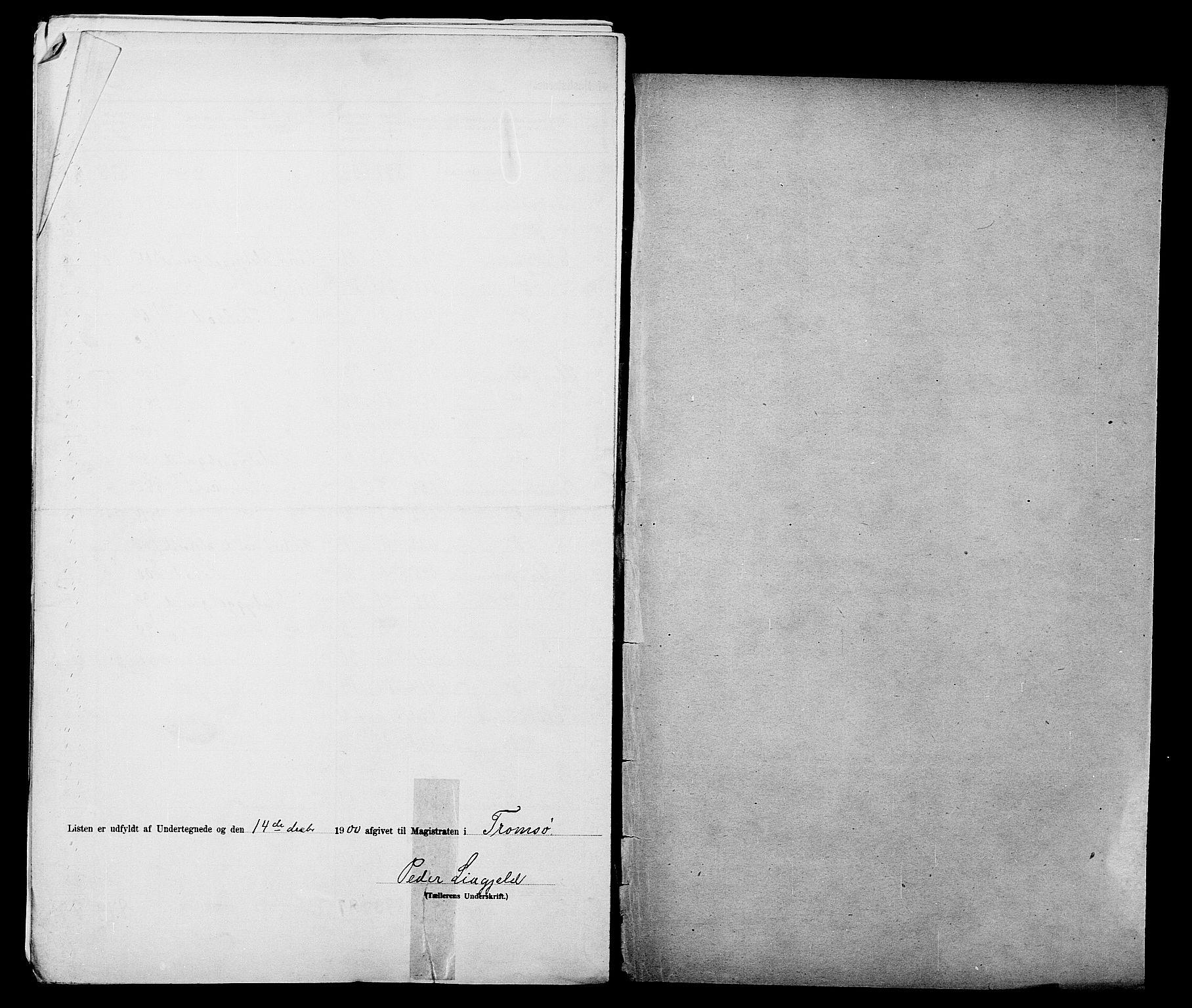 SATØ, 1900 census for Tromsø, 1900, p. 28