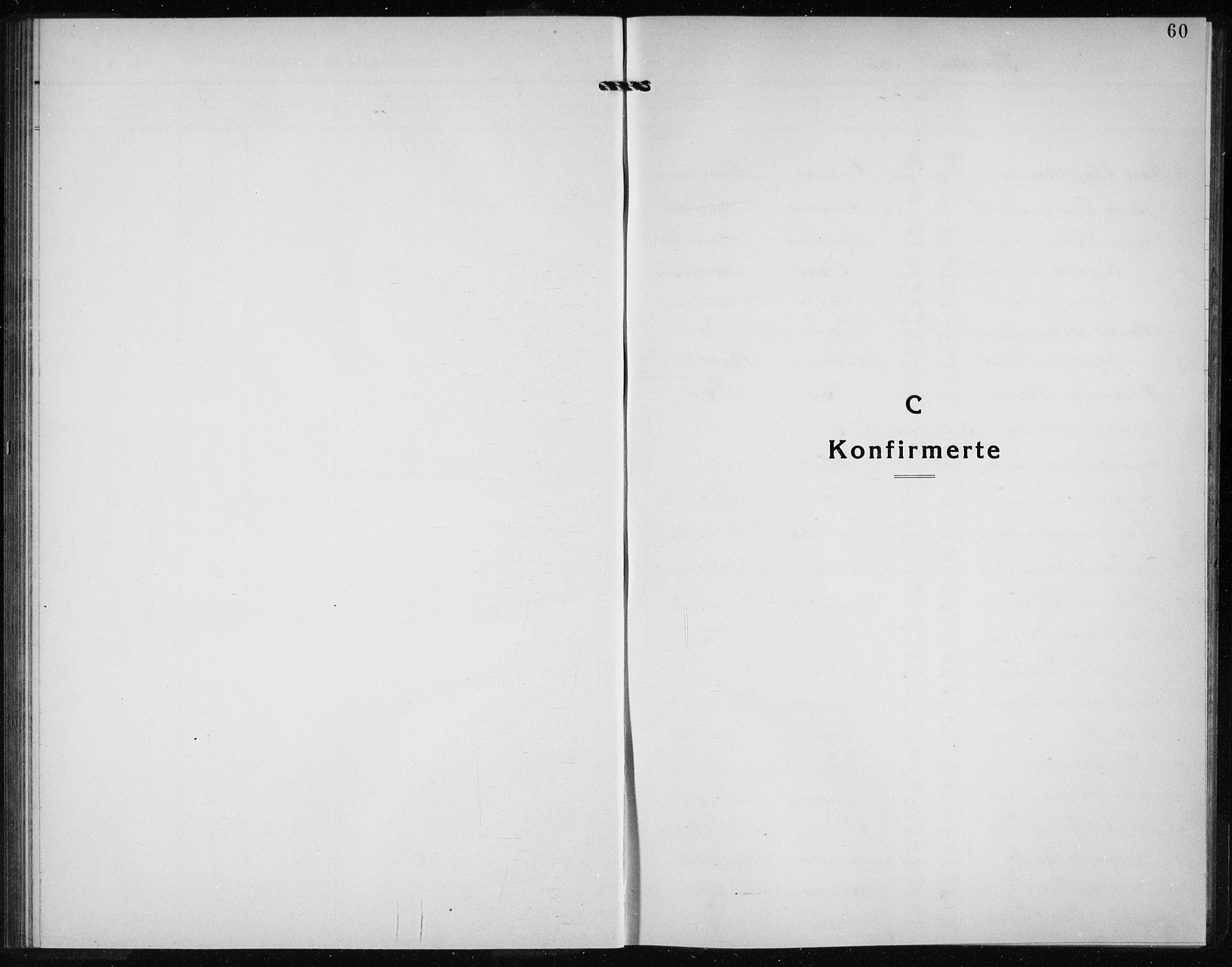 SAB, Kvinnherad Sokneprestembete, H/Haa: Parish register (official) no. G  1, 1920-1927, p. 60