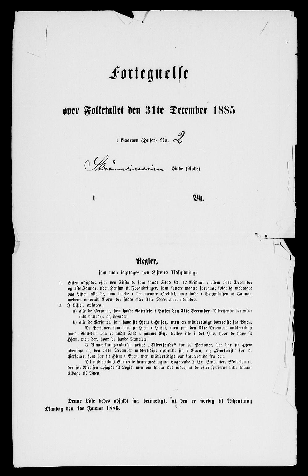 RA, 1885 census for 0301 Kristiania, 1885, p. 10132