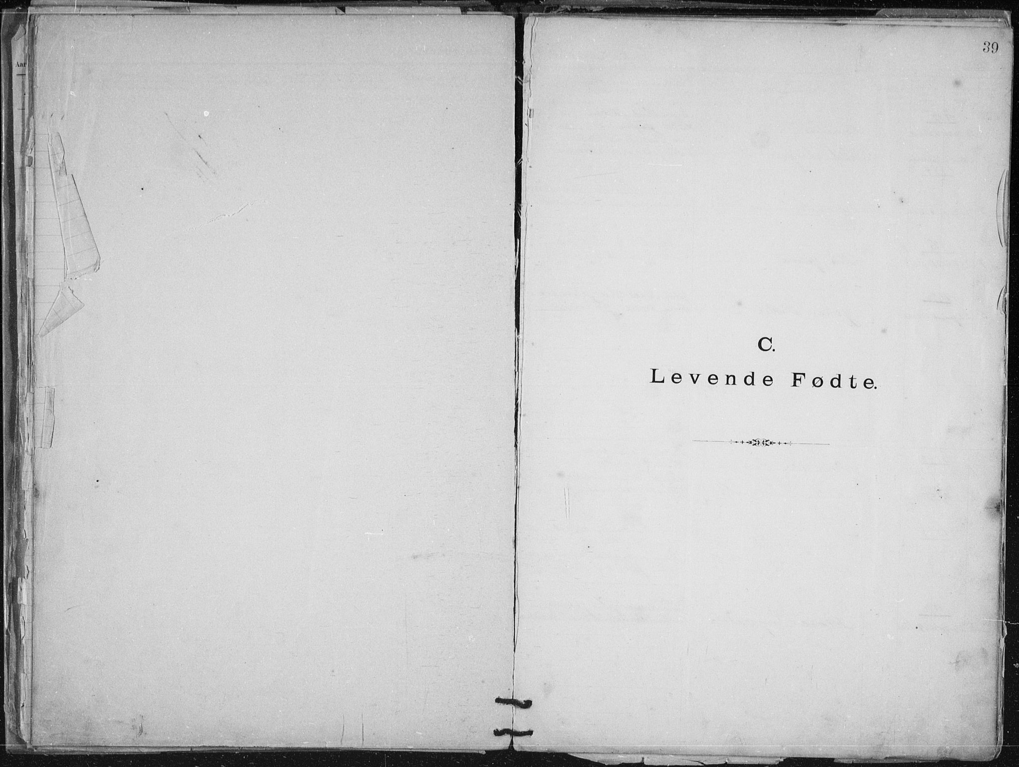 SATØ, Aune baptistmenighet, F/L0006DP: Dissenter register no. 6, 1887-1939, p. 39