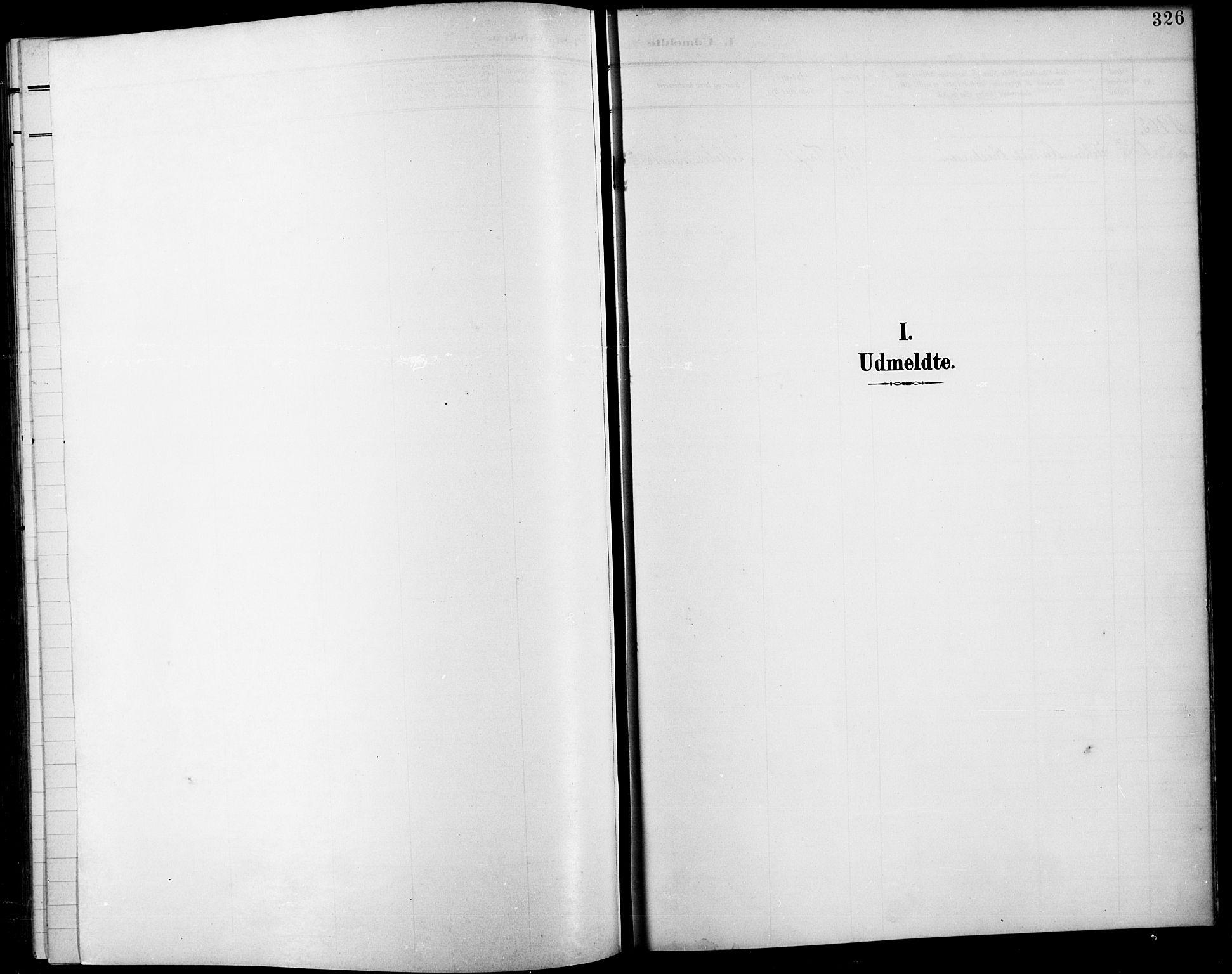 SAH, Fåberg prestekontor, H/Ha/Hab/L0012: Parish register (copy) no. 12, 1903-1924, p. 326