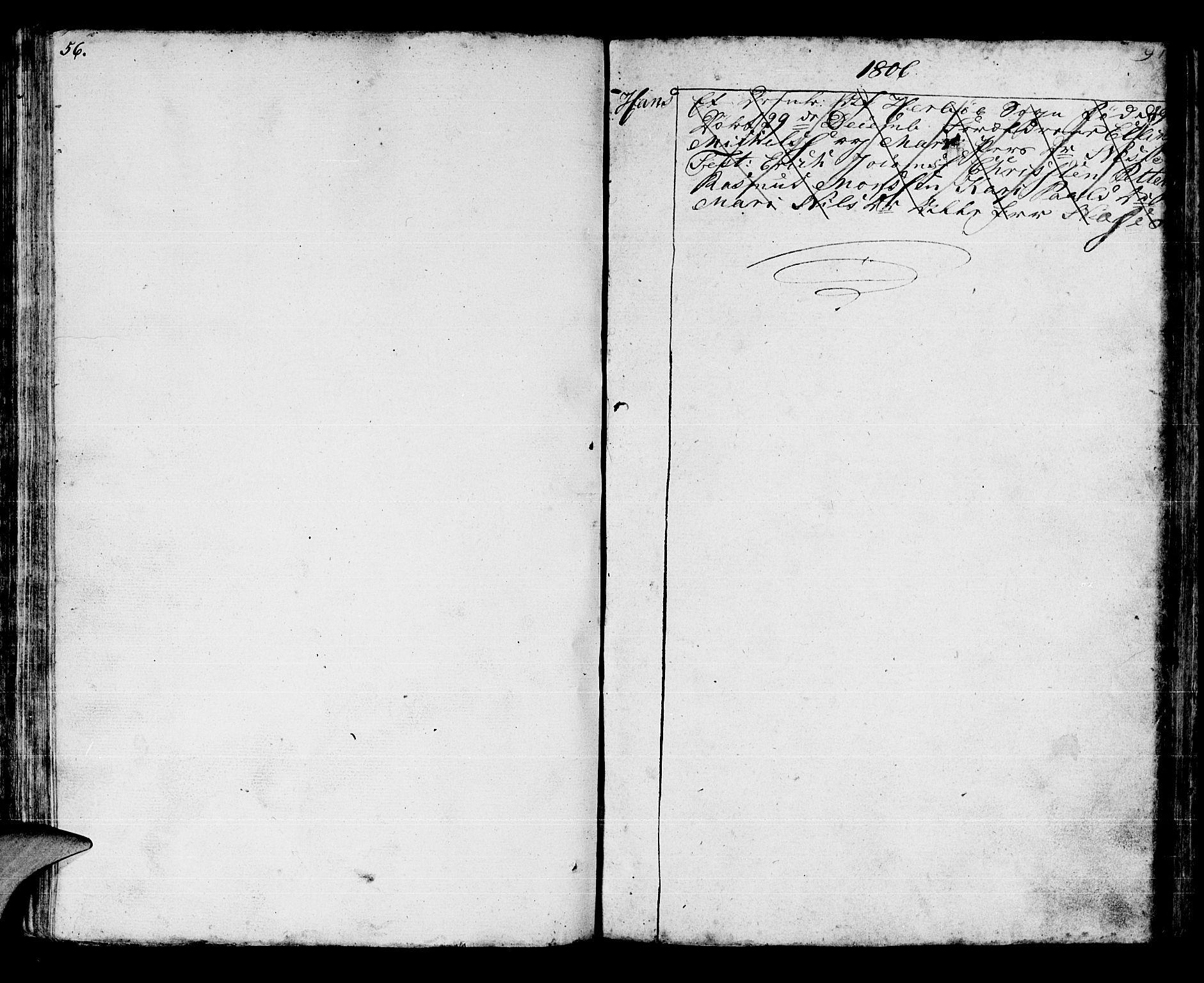 SAB, Manger sokneprestembete, H/Haa: Parish register (official) no. A 2, 1792-1815, p. 152