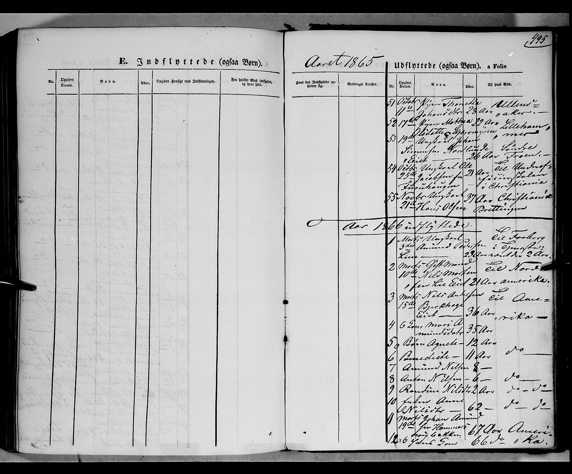 SAH, Gausdal prestekontor, Parish register (official) no. 9, 1862-1873, p. 495