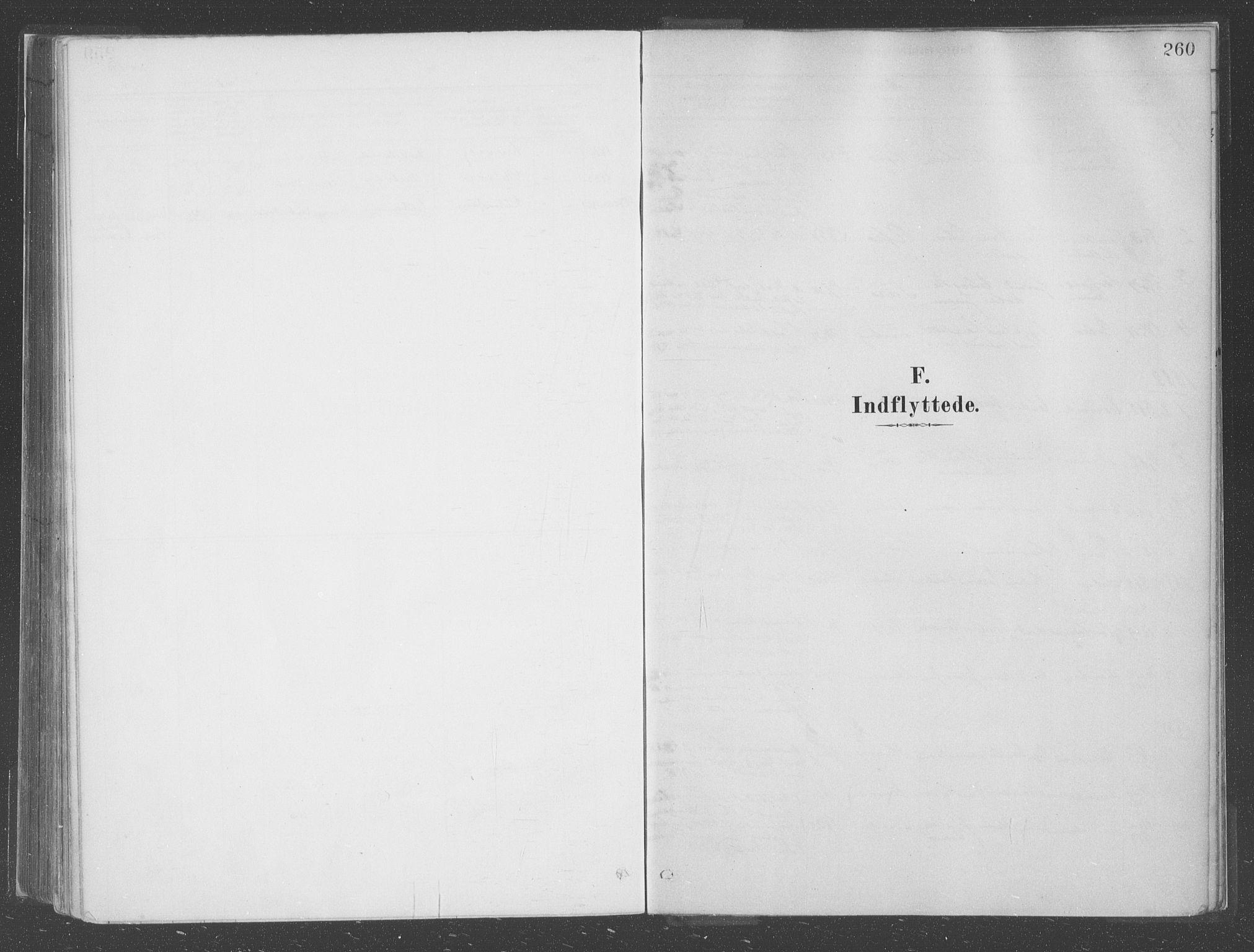 SAB, Askvoll Sokneprestembete, Parish register (official) no. C  1, 1879-1922, p. 260