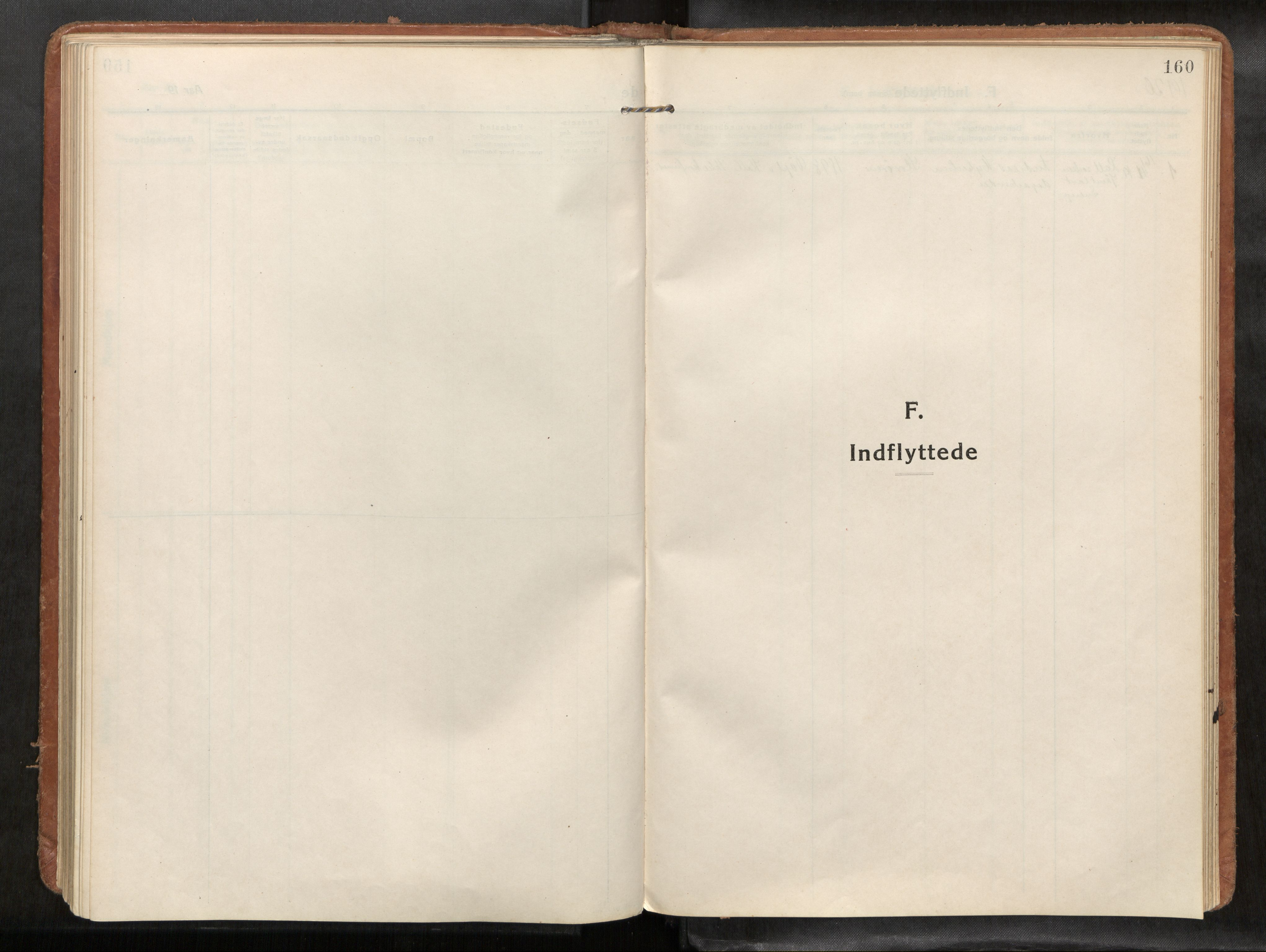 SAT, Verdal sokneprestkontor, H/Haa/L0004: Parish register (official) no. 4, 1916-1928, p. 160