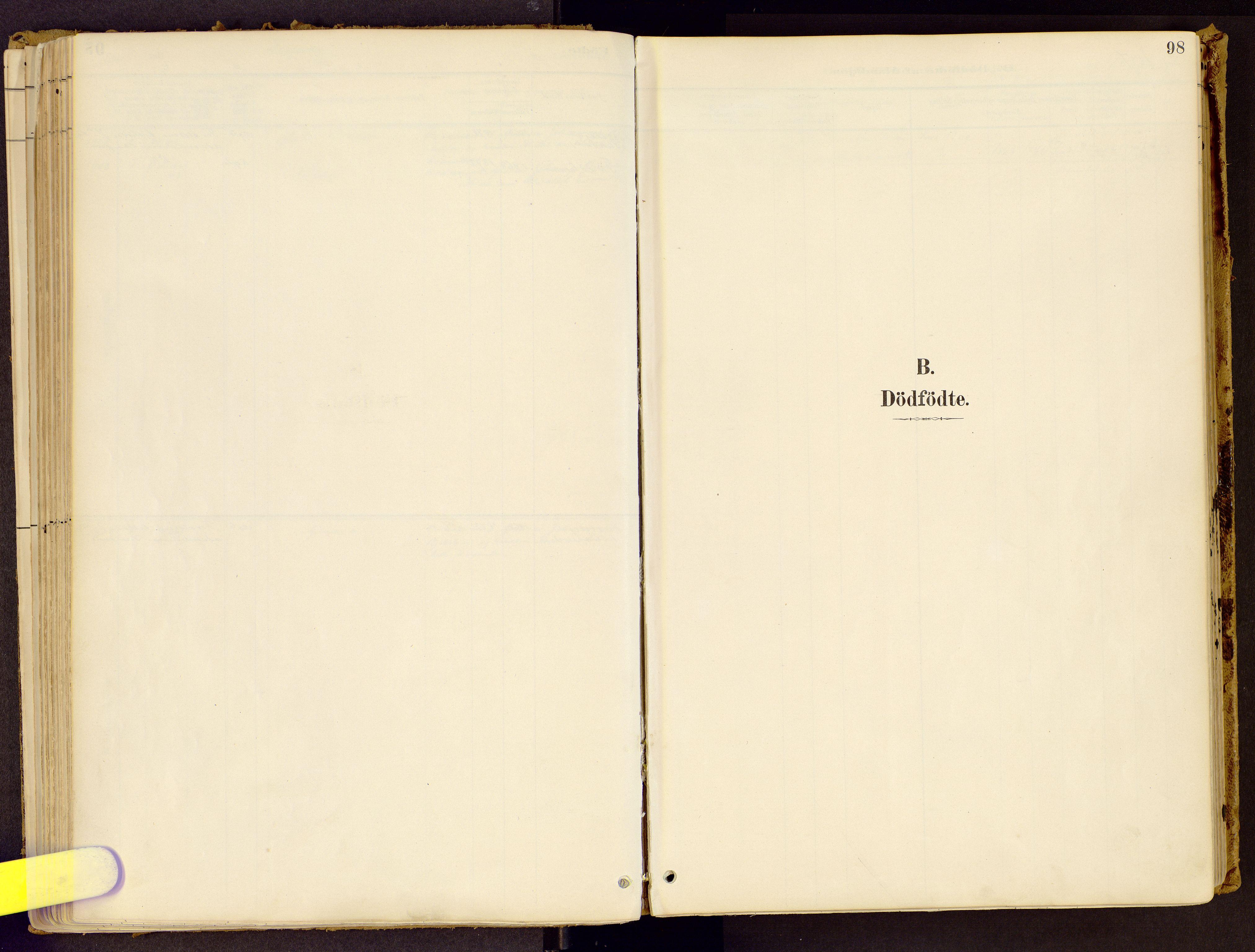 SAH, Vestre Gausdal prestekontor, Parish register (official) no. 1, 1887-1914, p. 98