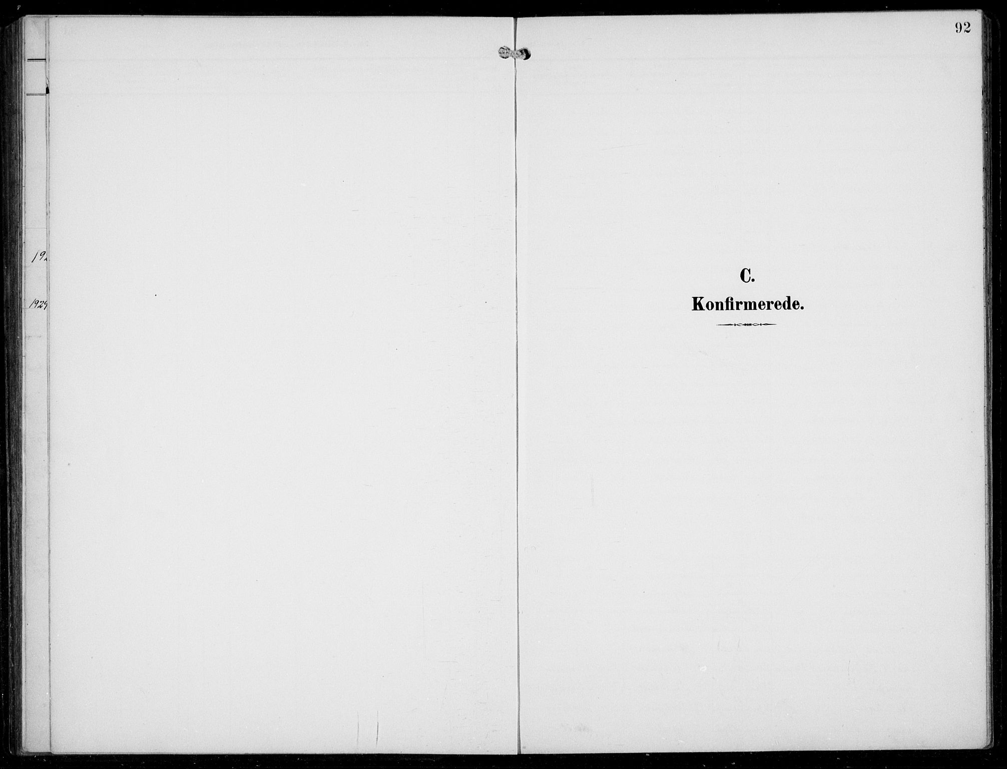 SAB, Aurland Sokneprestembete*, Parish register (copy) no. A 3, 1896-1939, p. 92