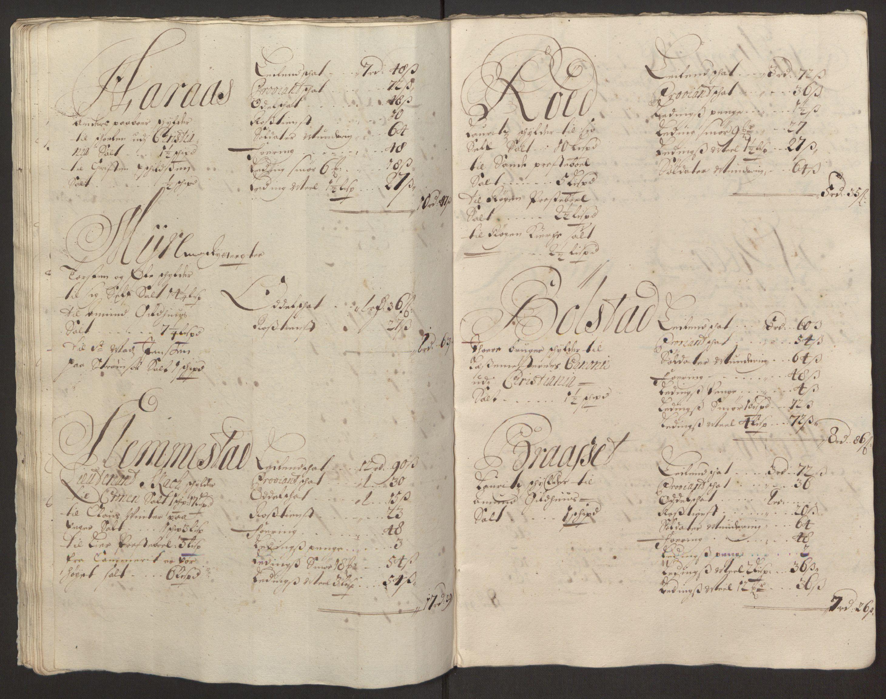 RA, Rentekammeret inntil 1814, Reviderte regnskaper, Fogderegnskap, R30/L1694: Fogderegnskap Hurum, Røyken, Eiker og Lier, 1694-1696, p. 353