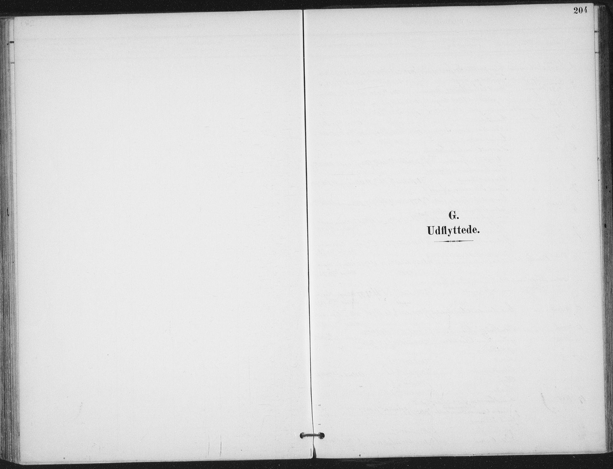 SAT, Ministerialprotokoller, klokkerbøker og fødselsregistre - Nord-Trøndelag, 703/L0031: Parish register (official) no. 703A04, 1893-1914, p. 204