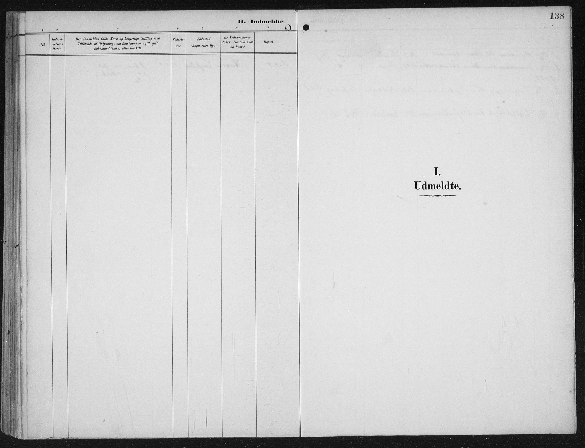 SAB, Kinn sokneprestembete, H/Haa/Haac/L0002: Parish register (official) no. C  2, 1895-1916, p. 138