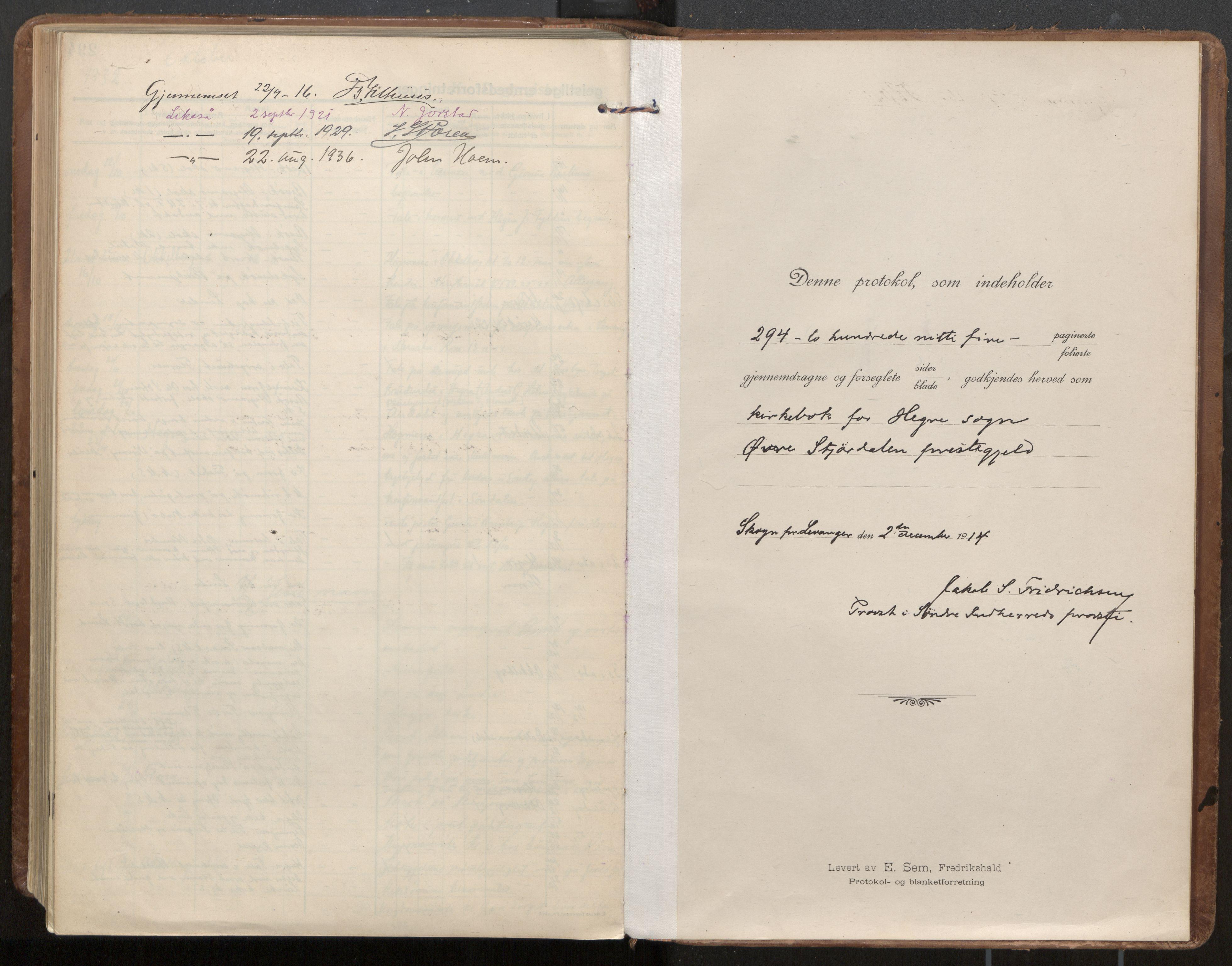 SAT, Ministerialprotokoller, klokkerbøker og fødselsregistre - Nord-Trøndelag, 703/L0037: Parish register (official) no. 703A10, 1915-1932