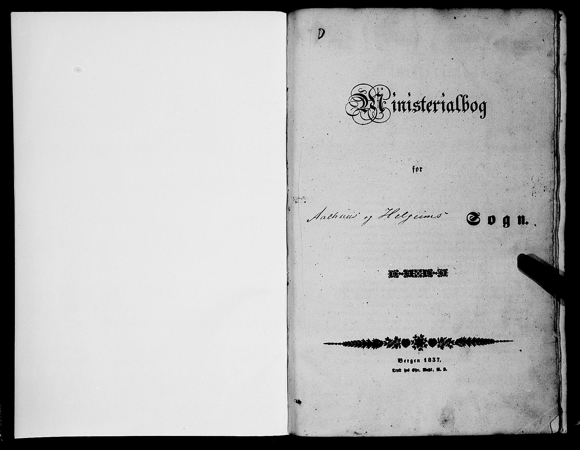 SAB, Jølster sokneprestembete, H/Haa/Haaa/L0010: Parish register (official) no. A 10, 1847-1865