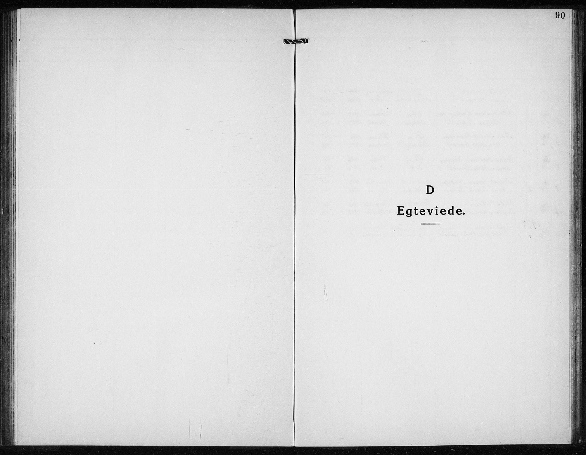 SAB, Kvinnherad Sokneprestembete, H/Haa: Parish register (official) no. G  1, 1920-1927, p. 90