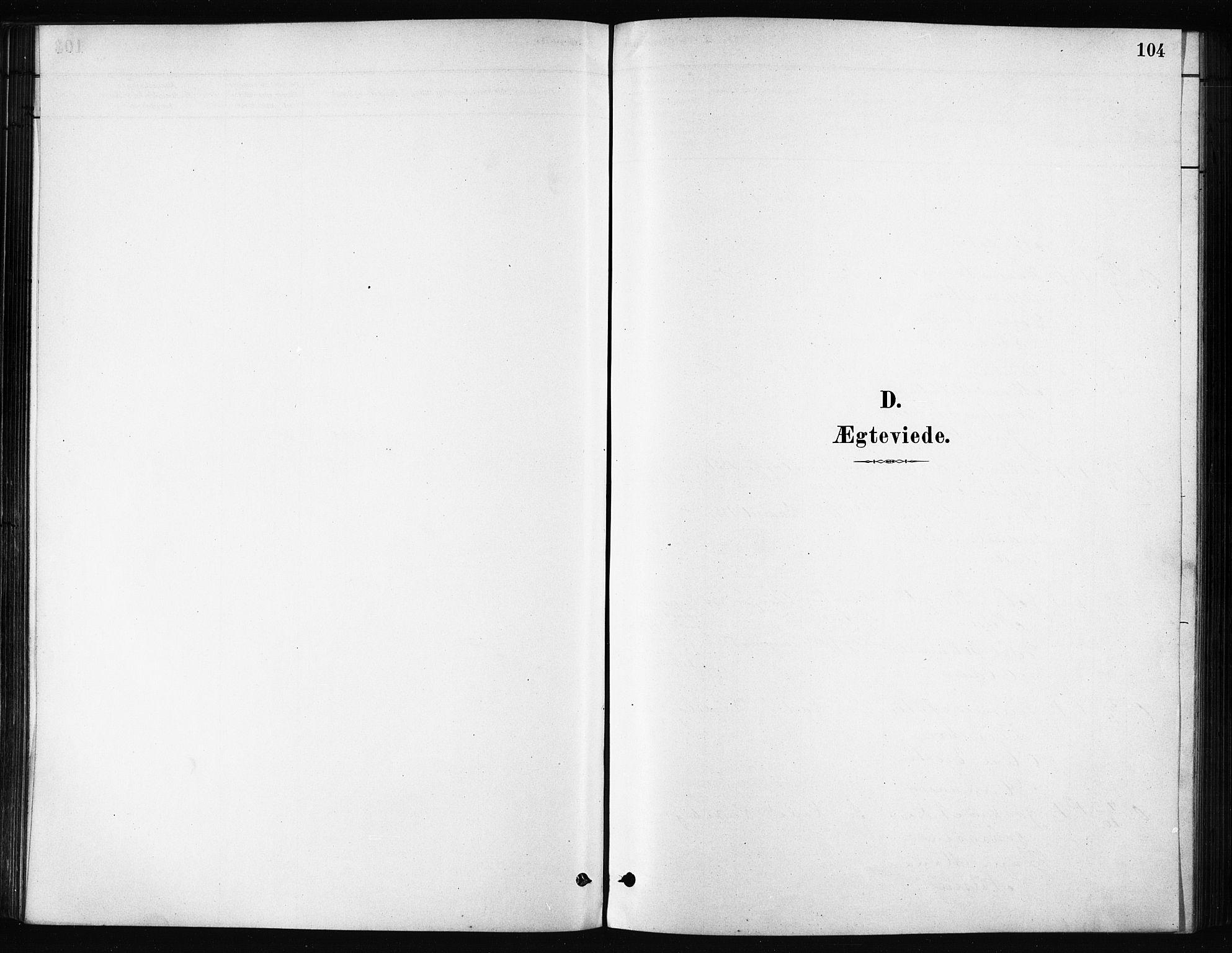 SATØ, Karlsøy sokneprestembete, H/Ha/Haa/L0011kirke: Parish register (official) no. 11, 1879-1892, p. 104