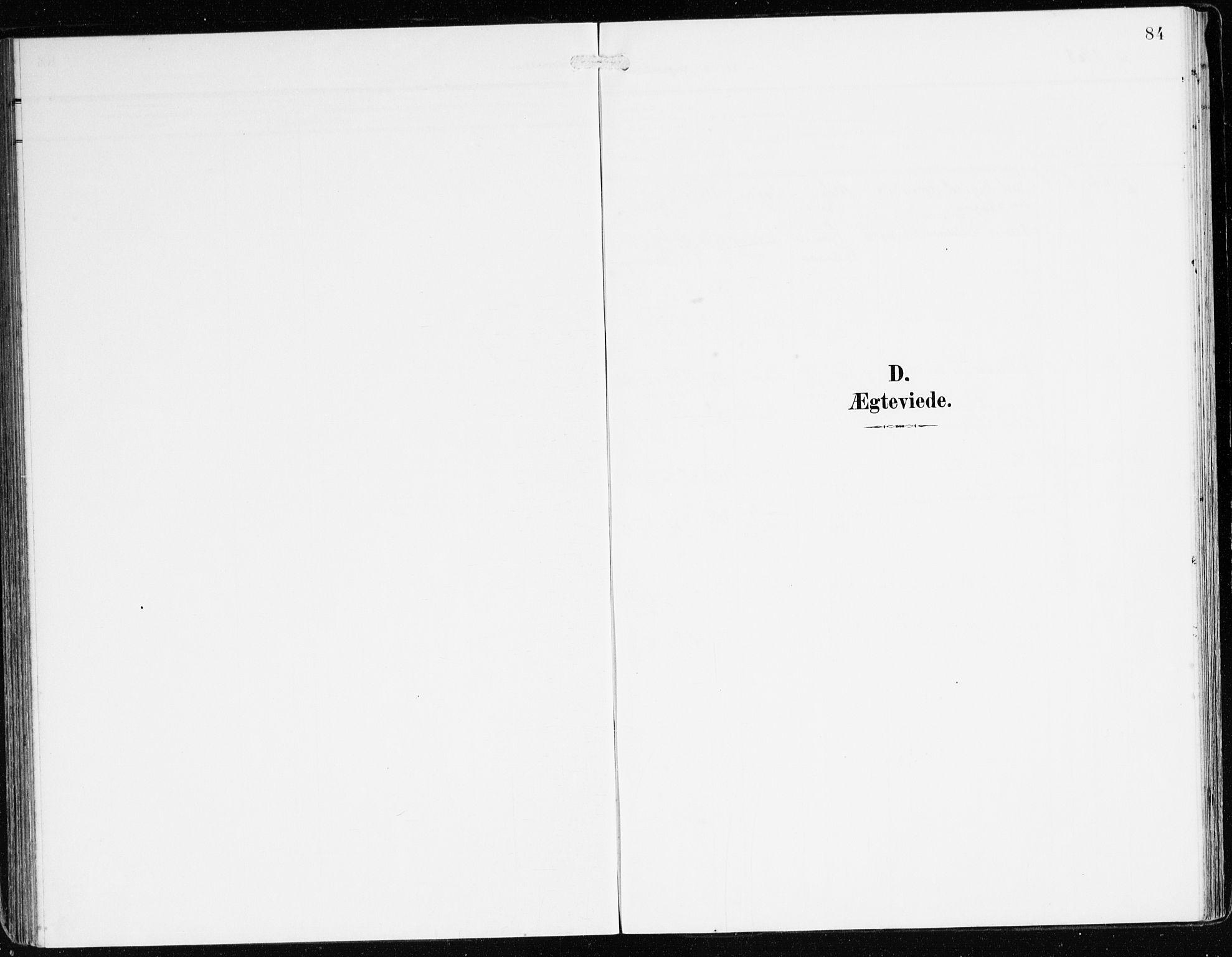 SAB, Bremanger Sokneprestembete, H/Haa: Parish register (official) no. B 3, 1908-1925, p. 84